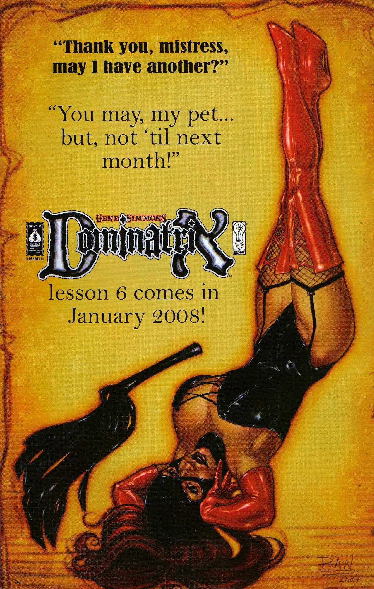 Read online Dominatrix comic -  Issue #5 - 25