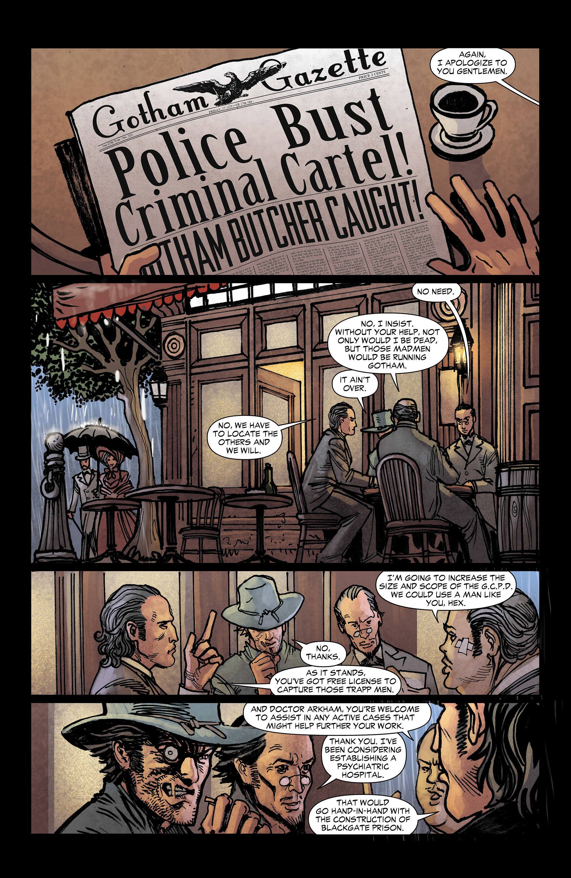 Read online All-Star Western (2011) comic -  Issue #3 - 6