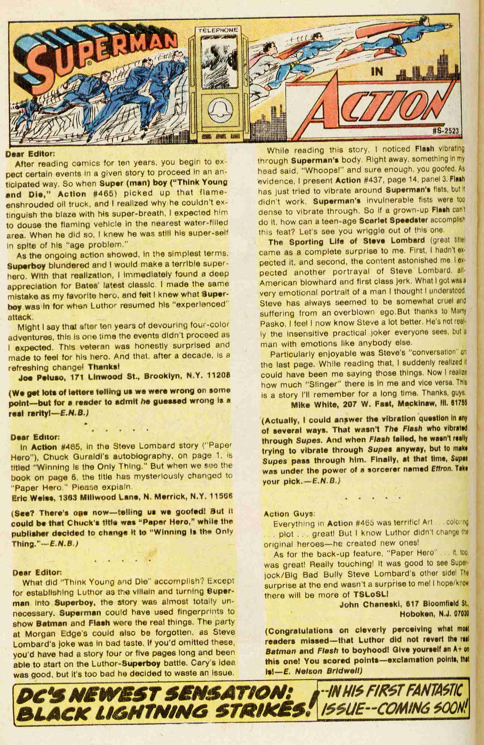 Read online Action Comics (1938) comic -  Issue #469 - 15