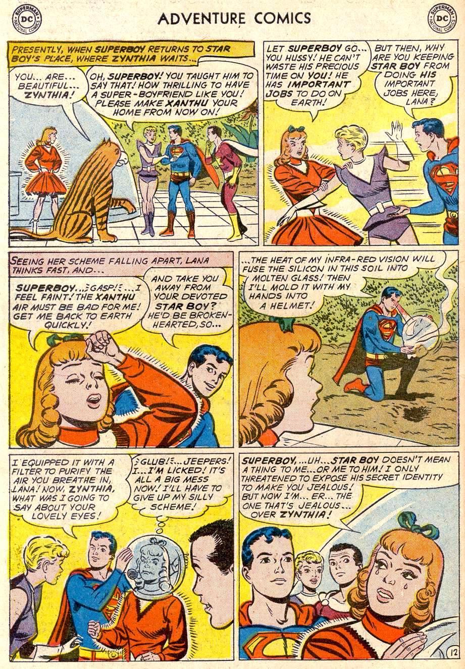 Read online Adventure Comics (1938) comic -  Issue #282 - 14