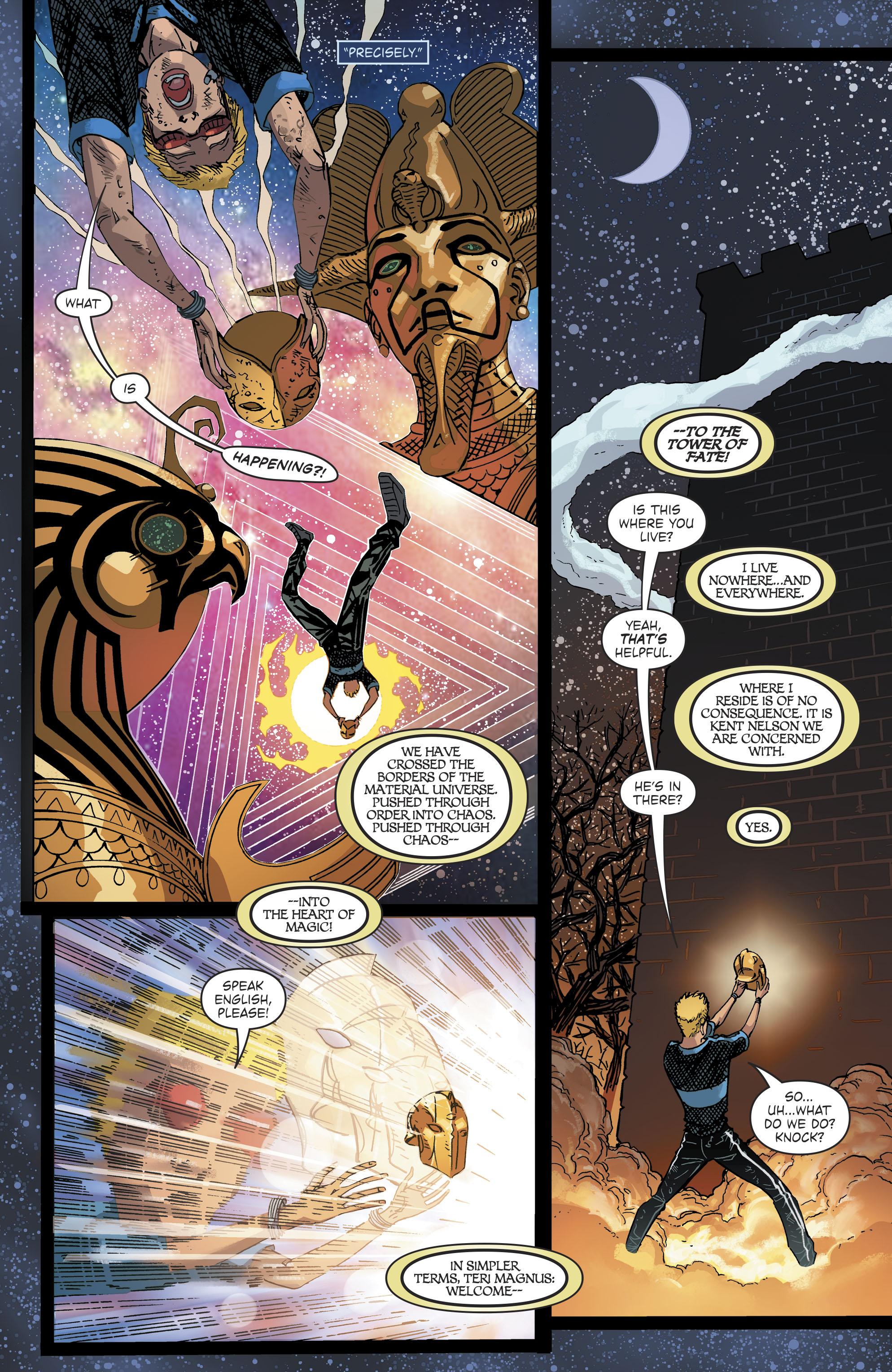 Read online Blue Beetle (2016) comic -  Issue #9 - 20