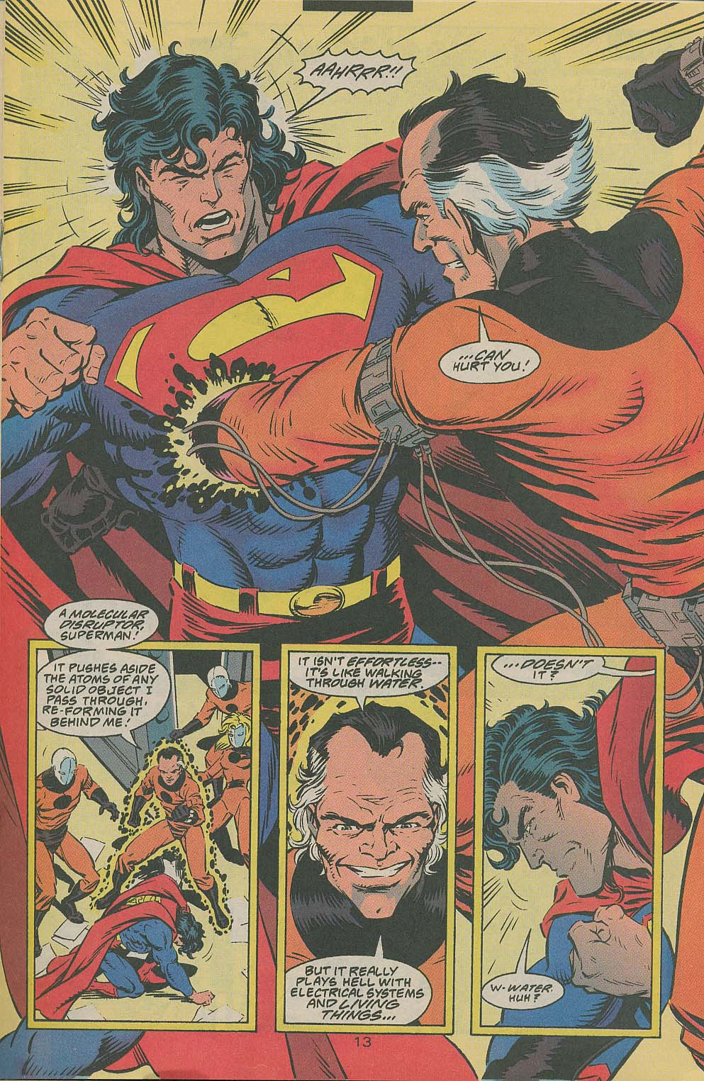 Read online Adventures of Superman (1987) comic -  Issue #505 - 14