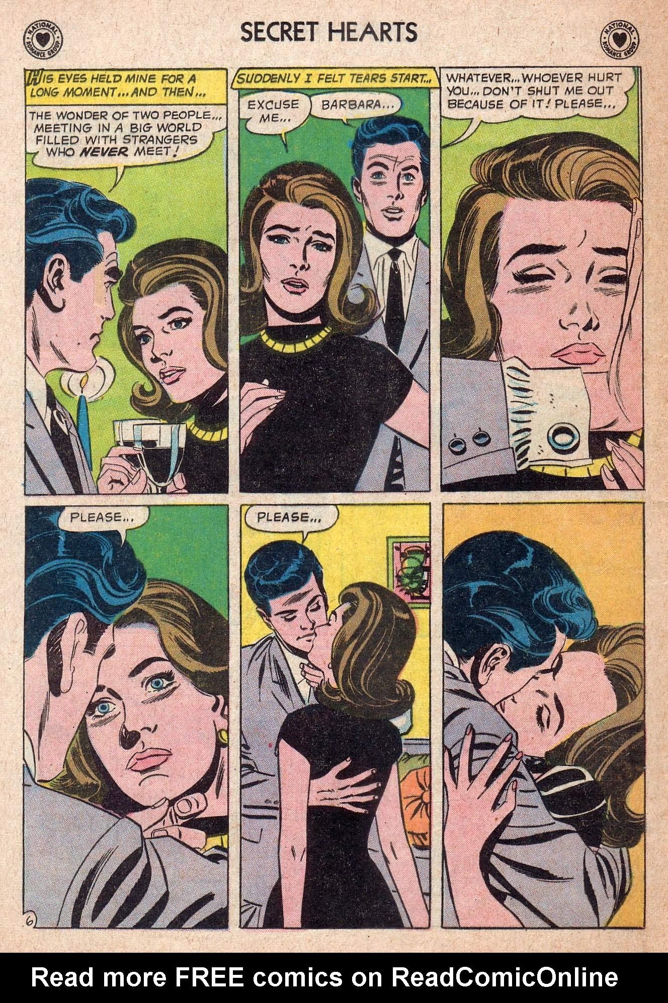 Read online Secret Hearts comic -  Issue #73 - 8