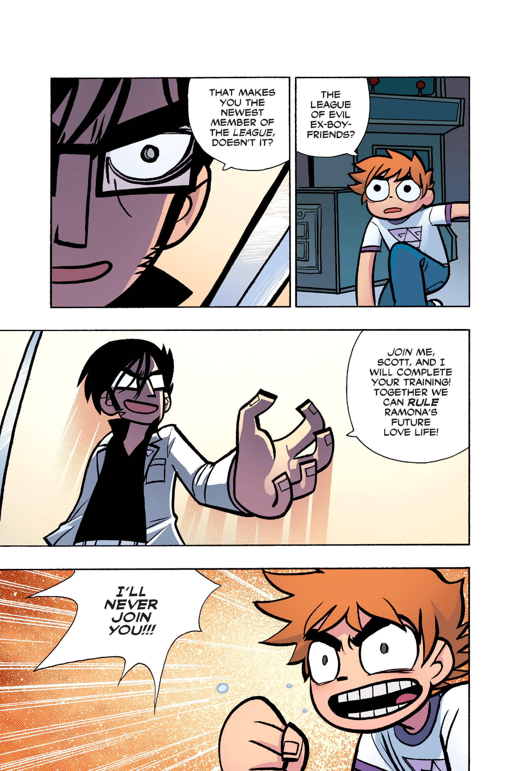 Read online Scott Pilgrim comic -  Issue #6 - 124