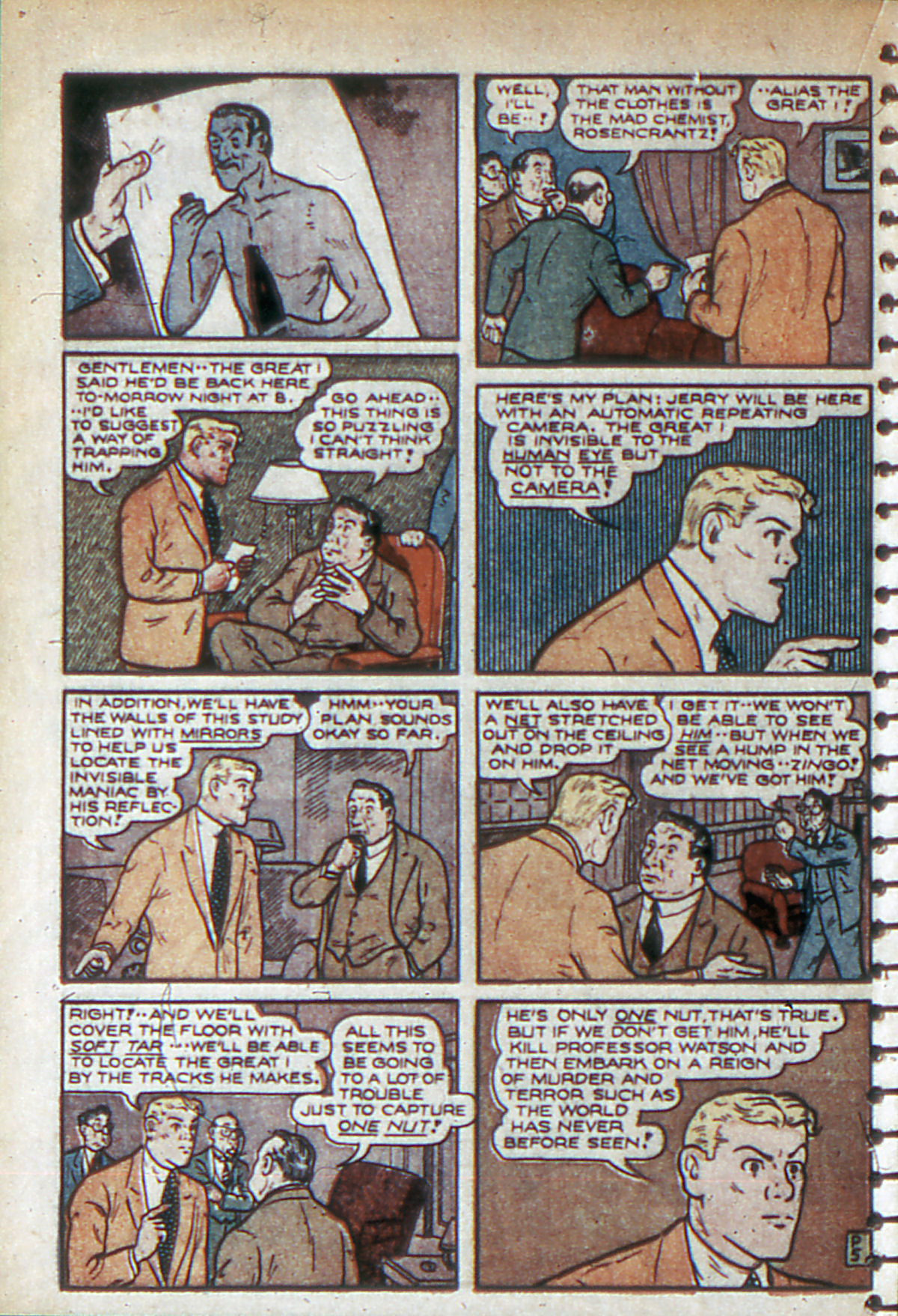 Read online Adventure Comics (1938) comic -  Issue #53 - 53