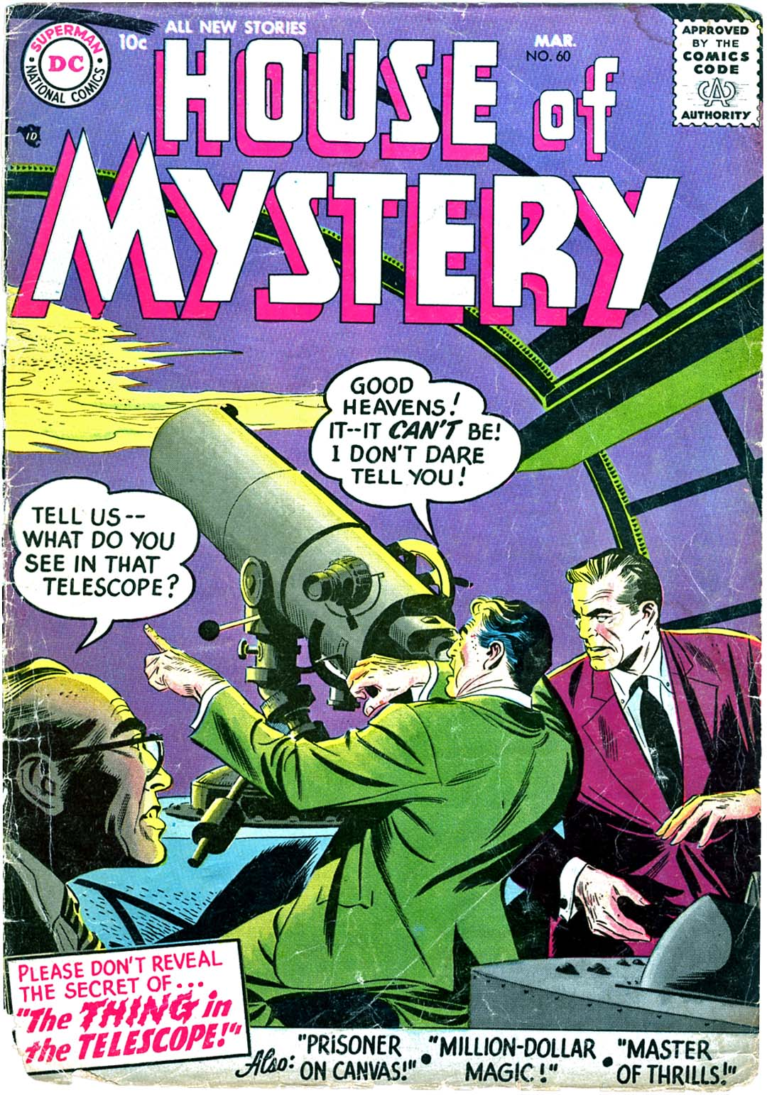 House of Mystery (1951) issue 60 - Page 1