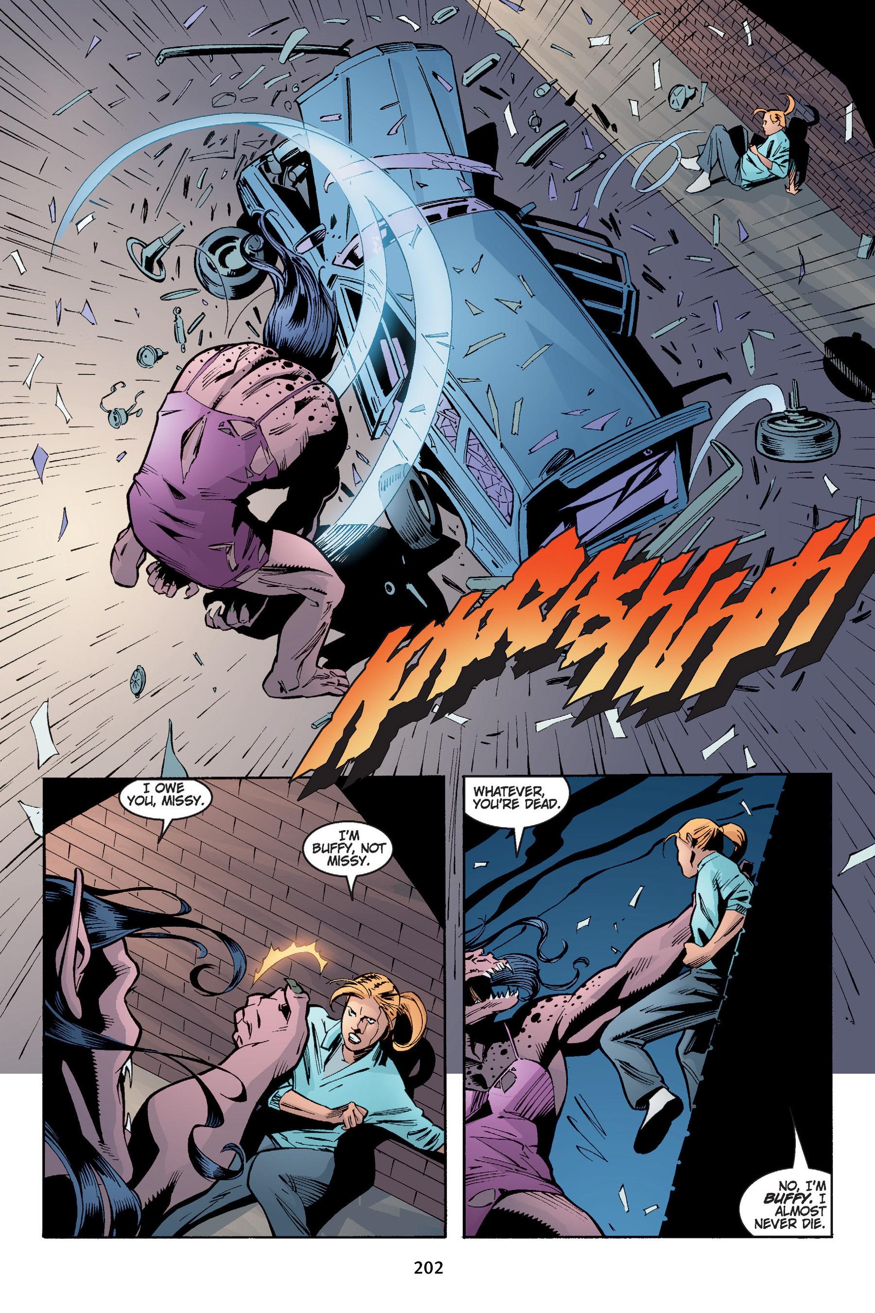 Read online Buffy the Vampire Slayer: Omnibus comic -  Issue # TPB 4 - 202