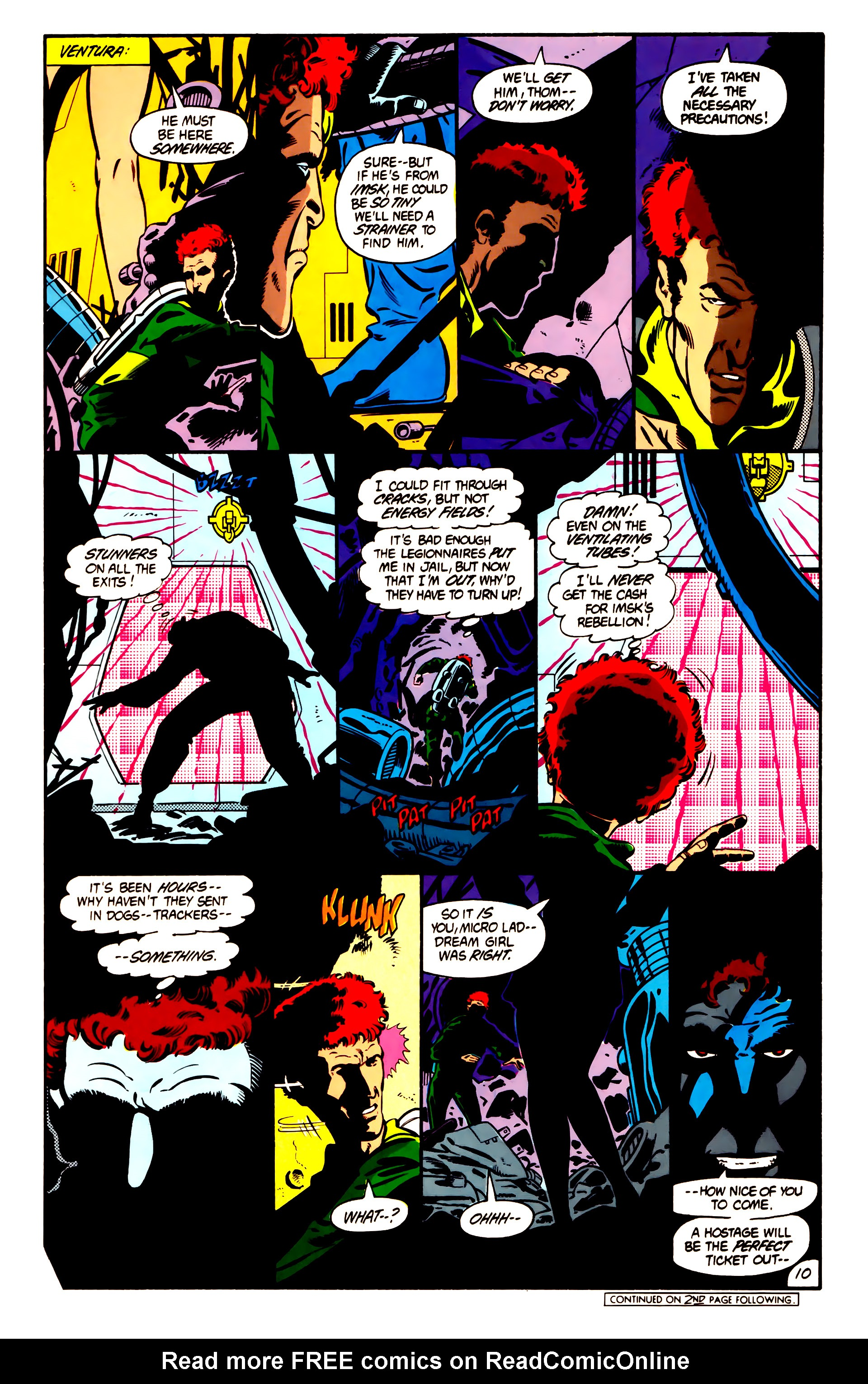 Legion of Super-Heroes (1984) 1 Page 11