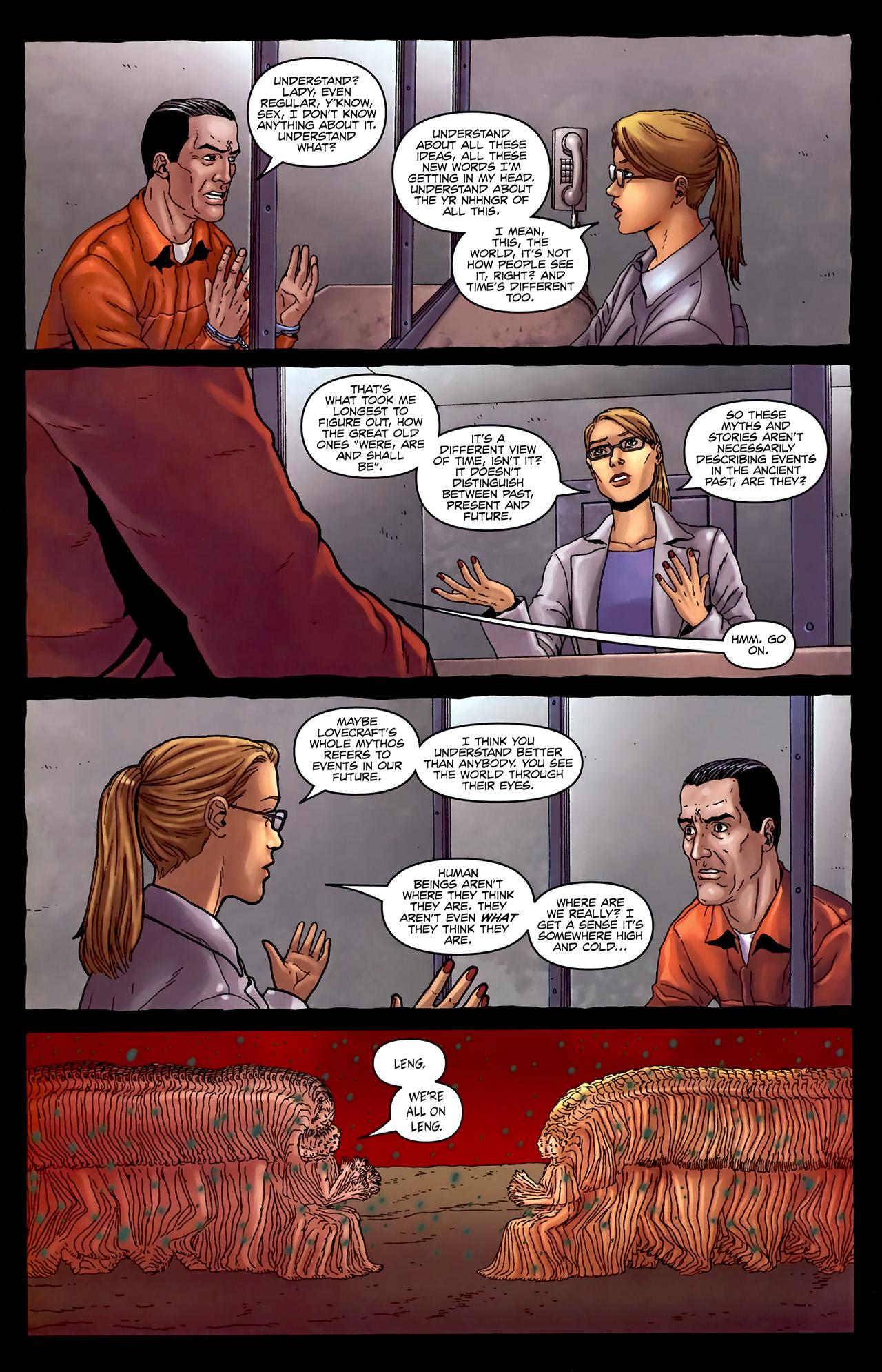 Read online Alan Moore's Neonomicon comic -  Issue #4 - 26