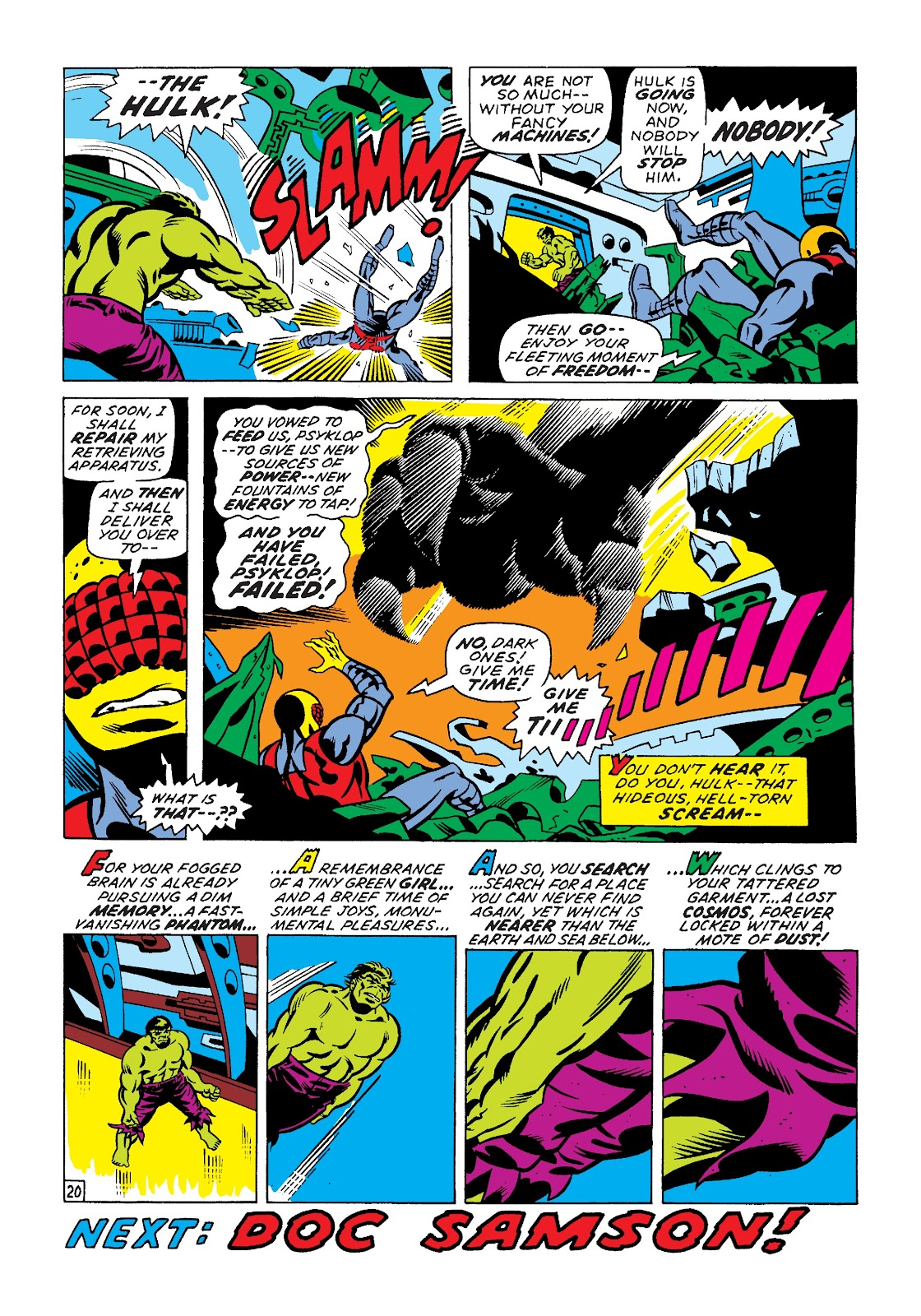 Read online Marvel Masterworks: The Incredible Hulk comic -  Issue # TPB 7 (Part 2) - 46