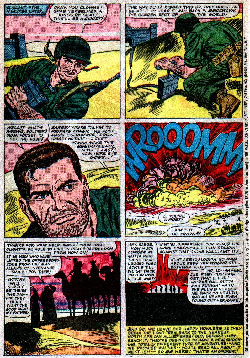 Read online Sgt. Fury comic -  Issue #16 - 28