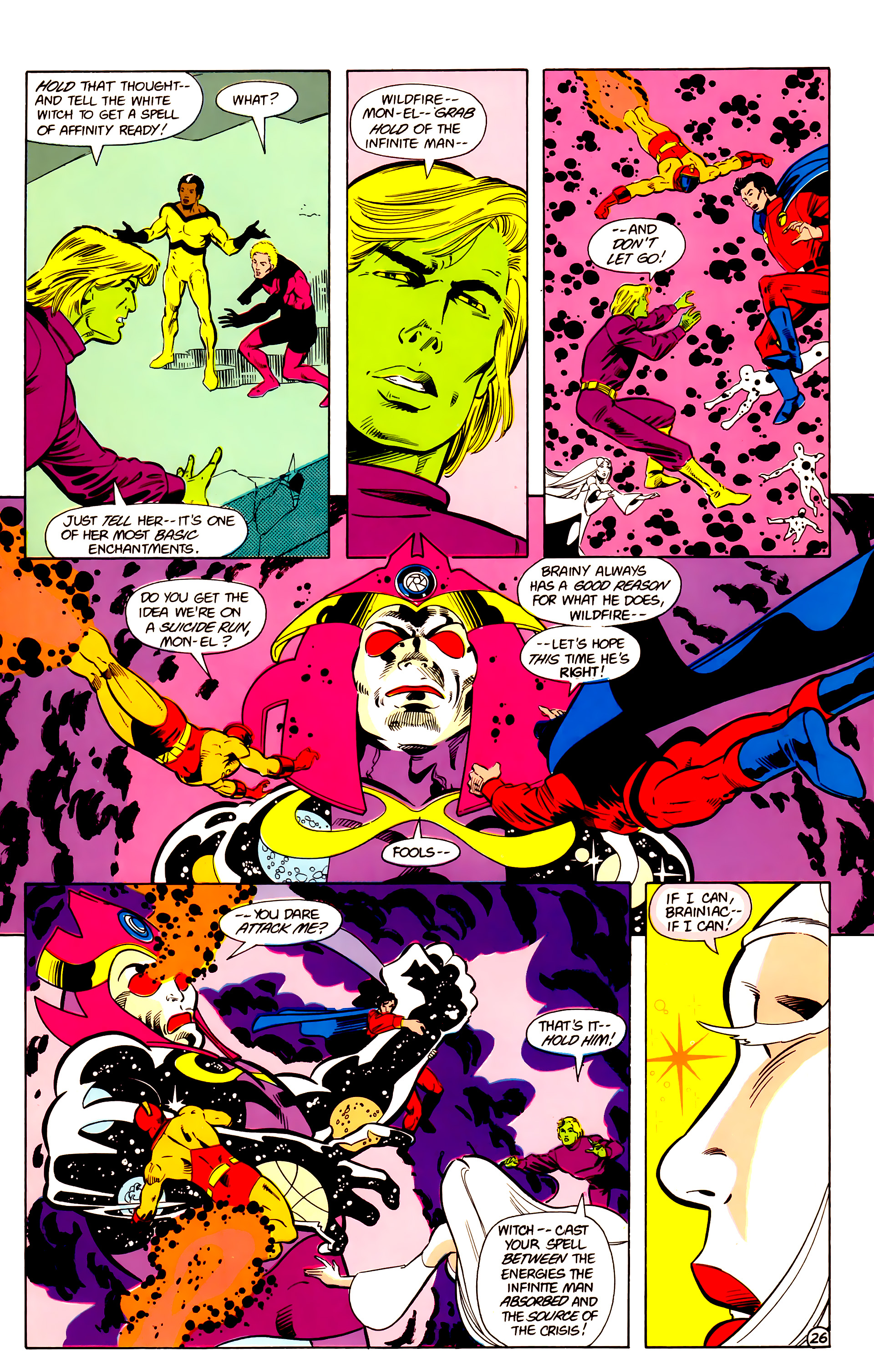 Legion of Super-Heroes (1984) 18 Page 26