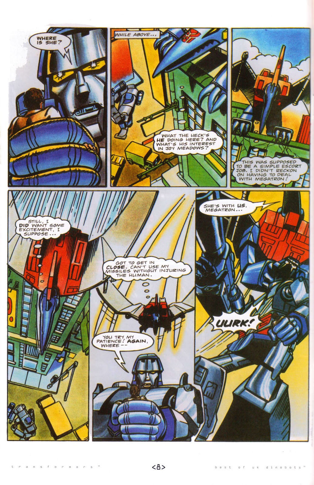 Read online The Transformers: Best of UK: Dinobots comic -  Issue #5 - 10