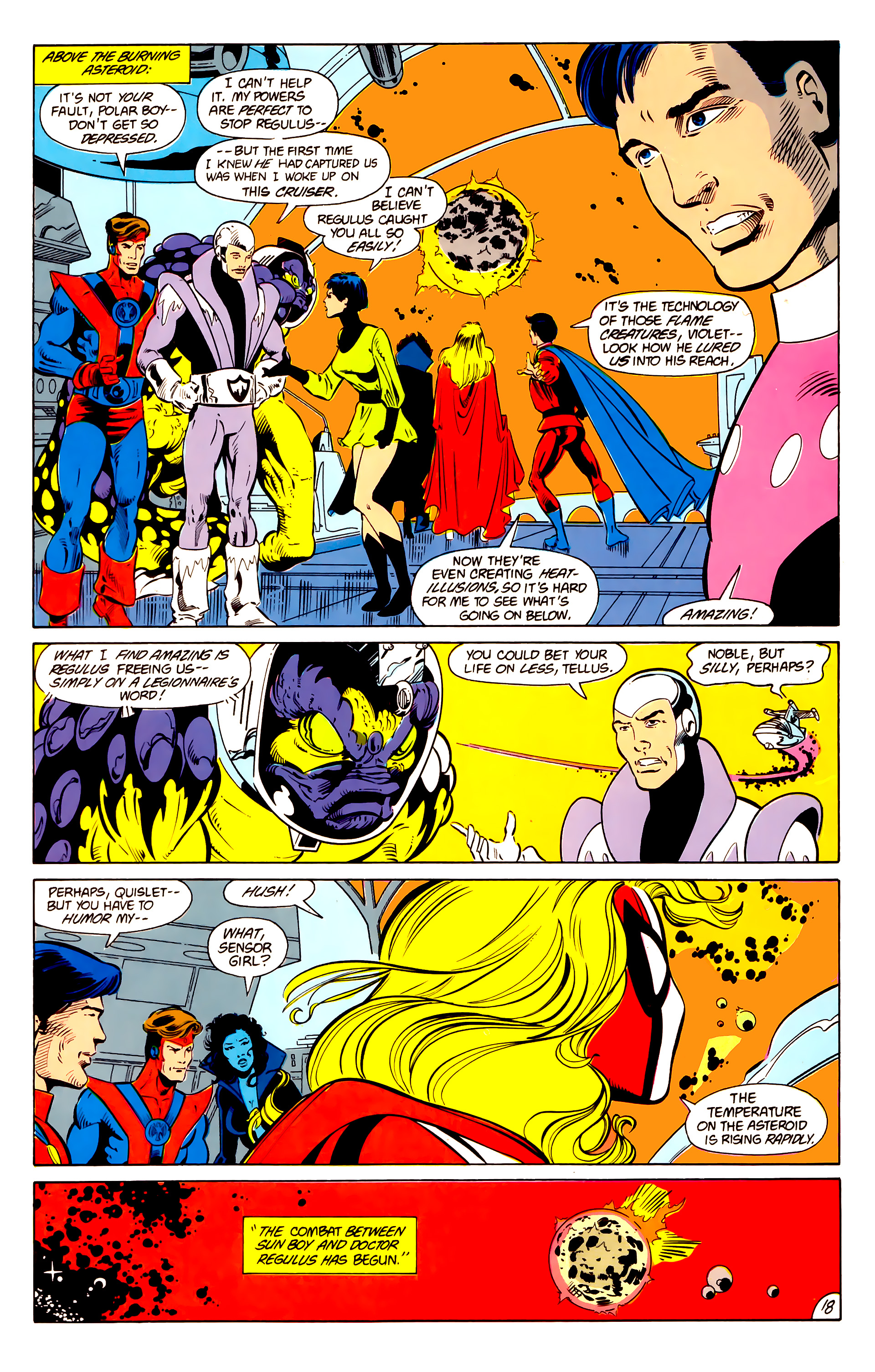 Legion of Super-Heroes (1984) 15 Page 19