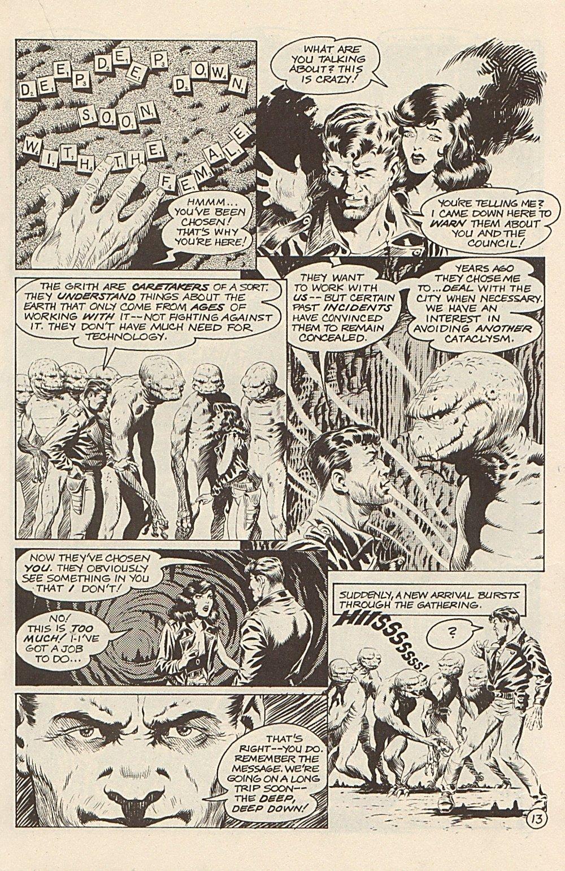 Read online Xenozoic Tales comic -  Issue #3 - 16