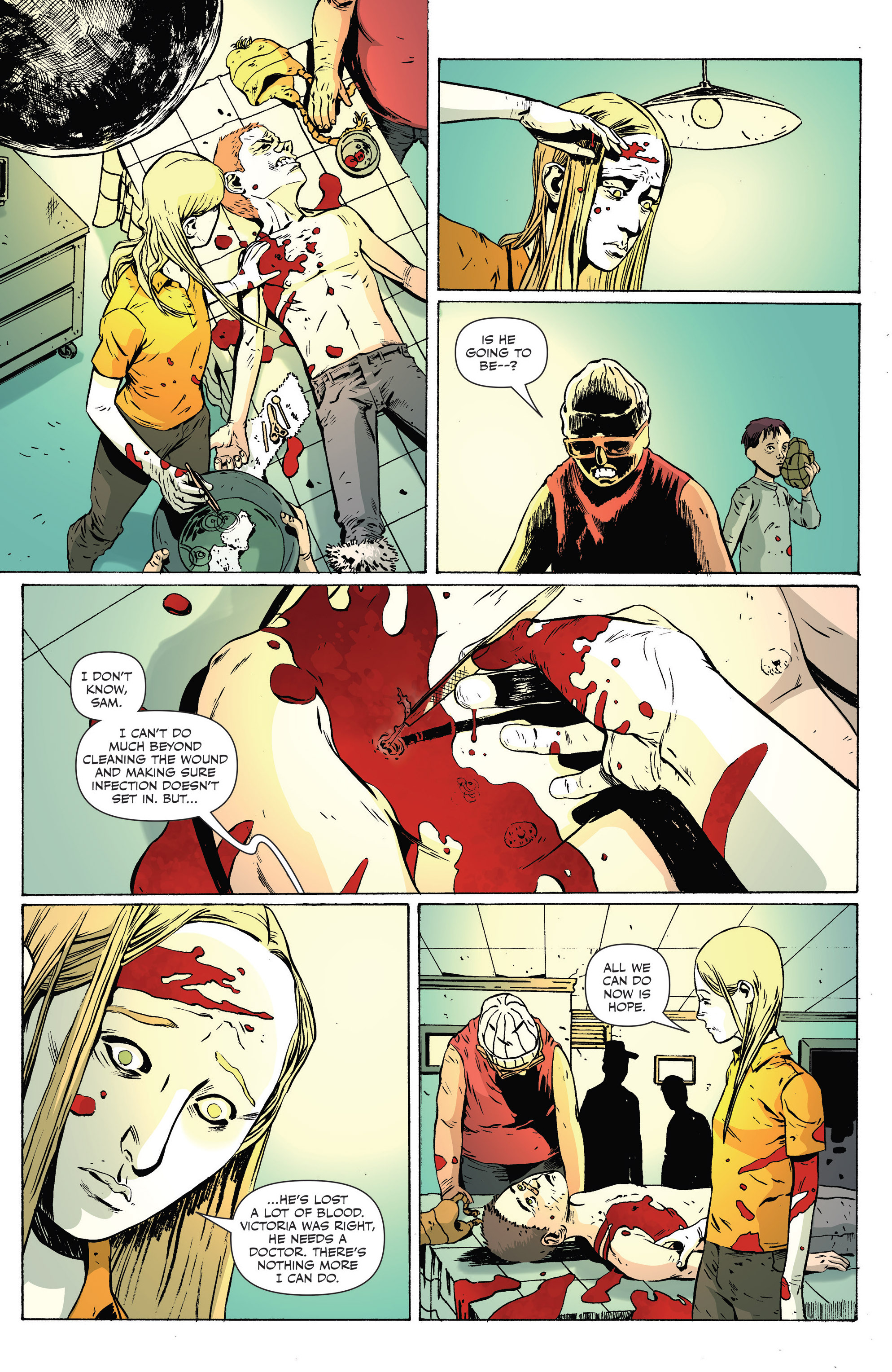 Read online Sheltered comic -  Issue #8 - 18