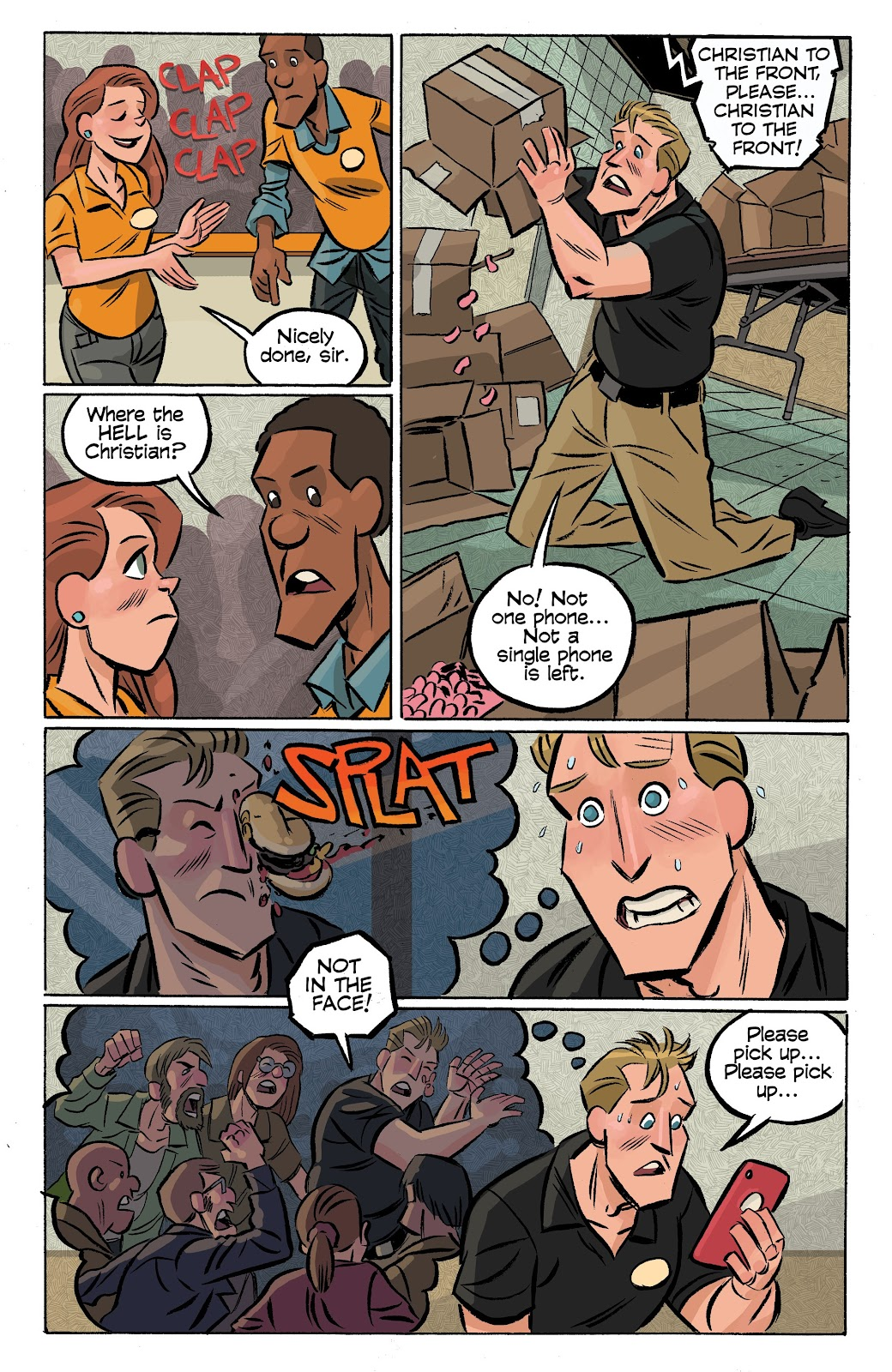 Read online Cellies comic -  Issue #6 - 16