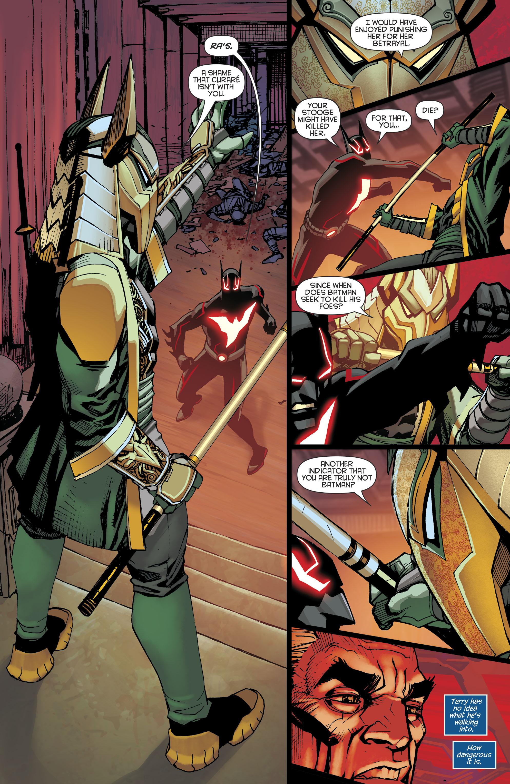 Read online Batman Beyond (2016) comic -  Issue #8 - 20