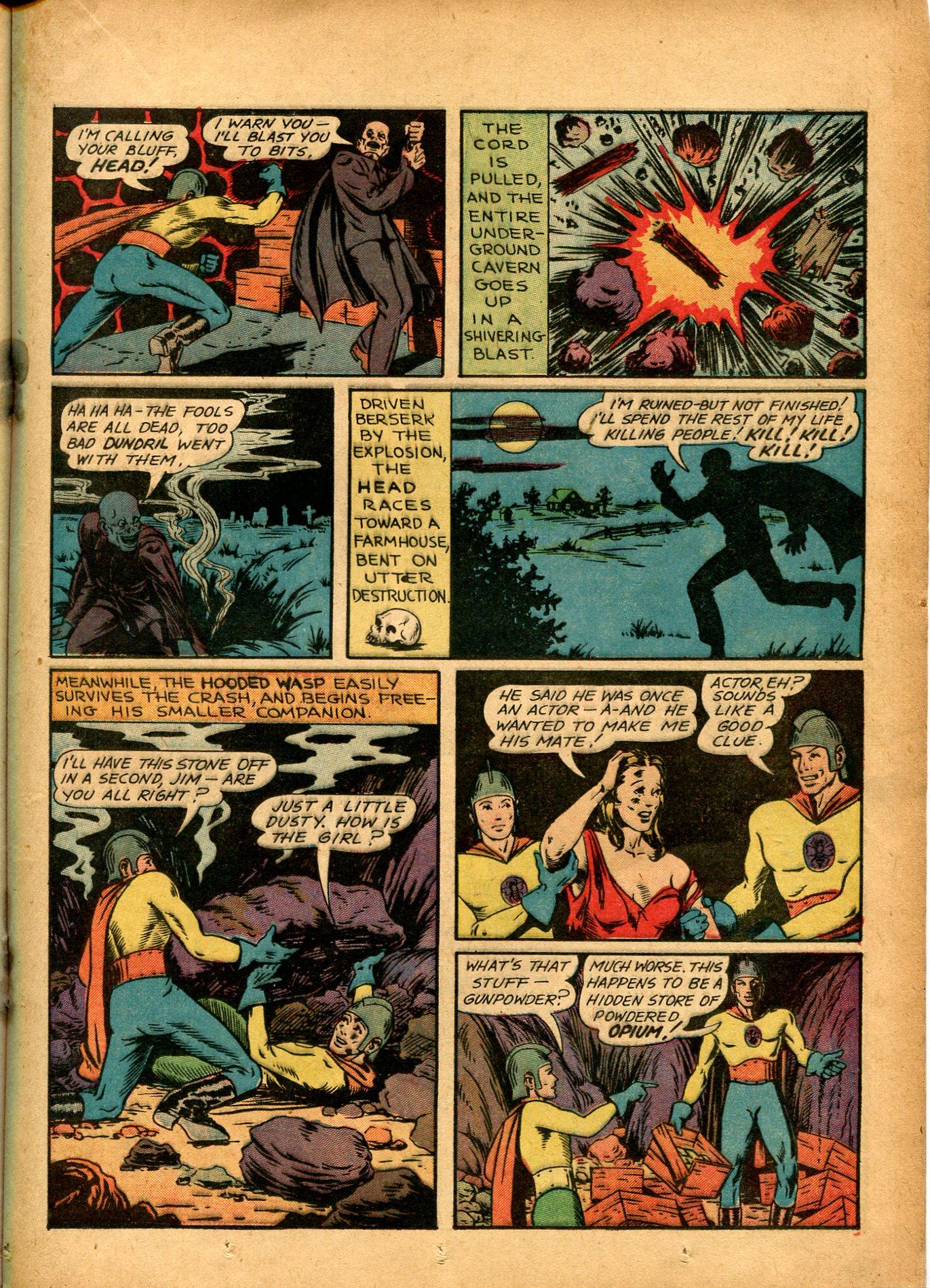 Read online Shadow Comics comic -  Issue #8 - 31