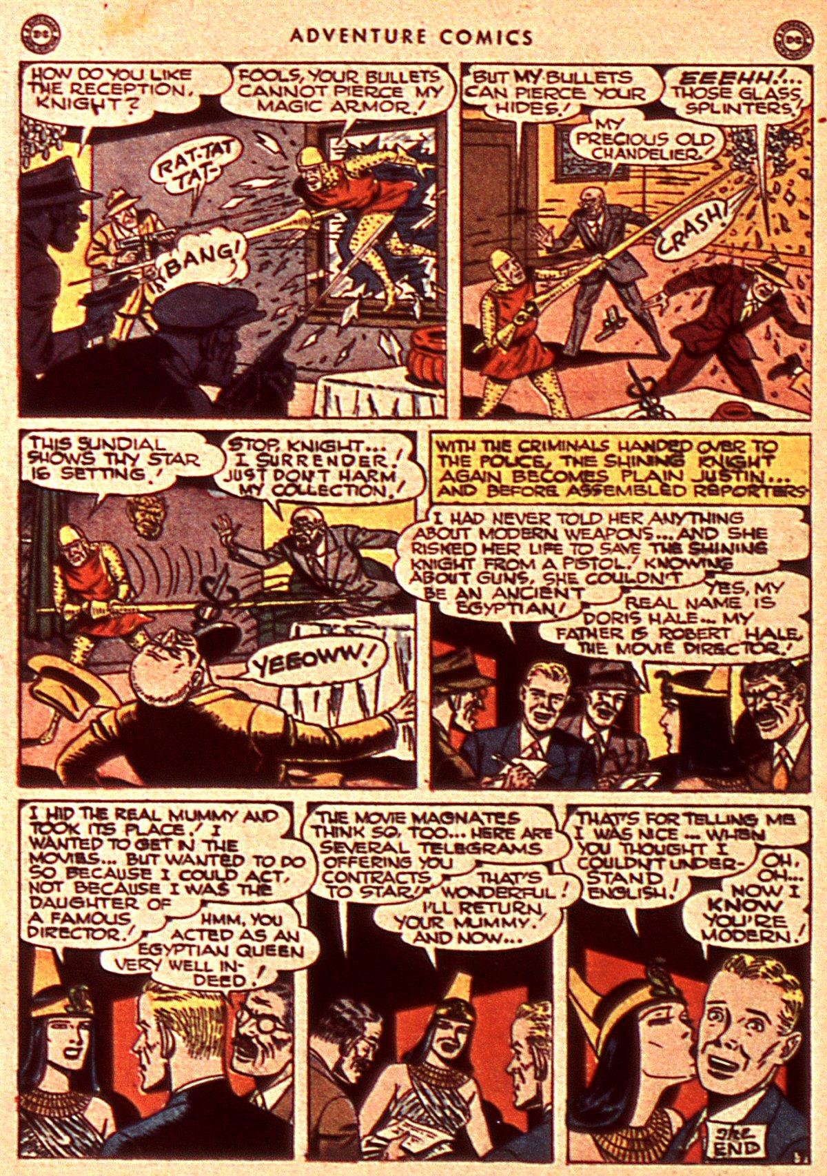 Read online Adventure Comics (1938) comic -  Issue #106 - 38