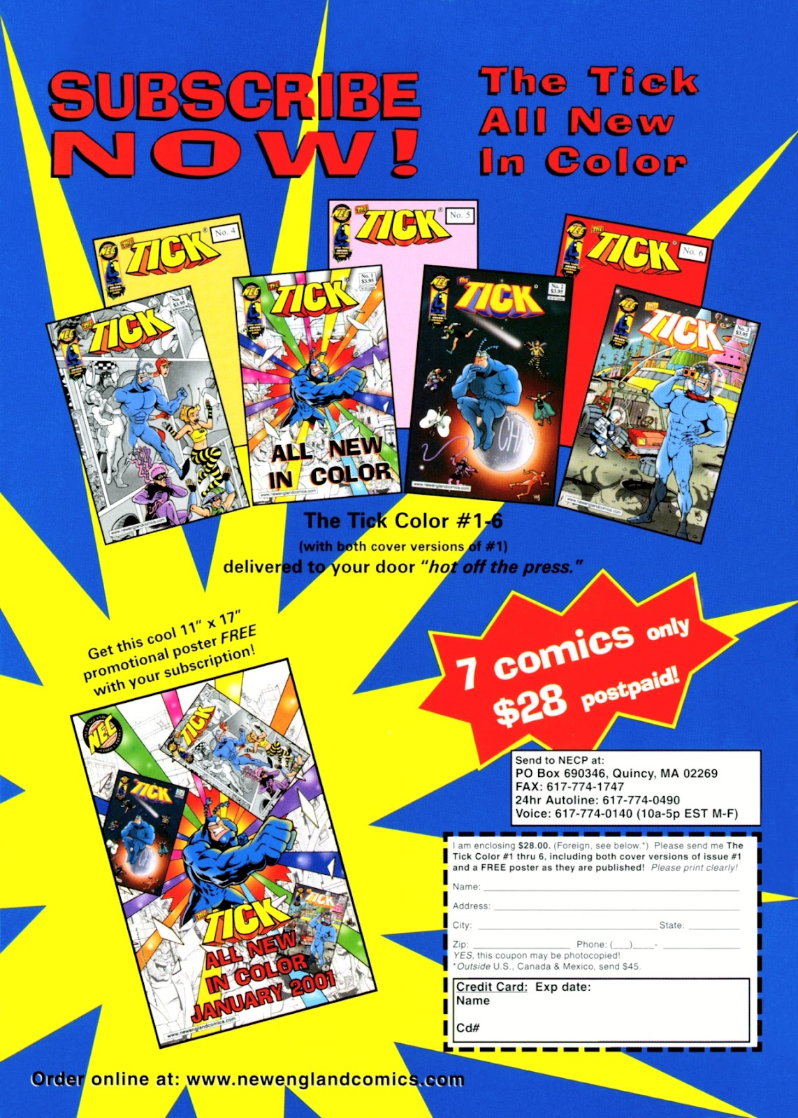 Read online The Tick comic -  Issue #13 - 36