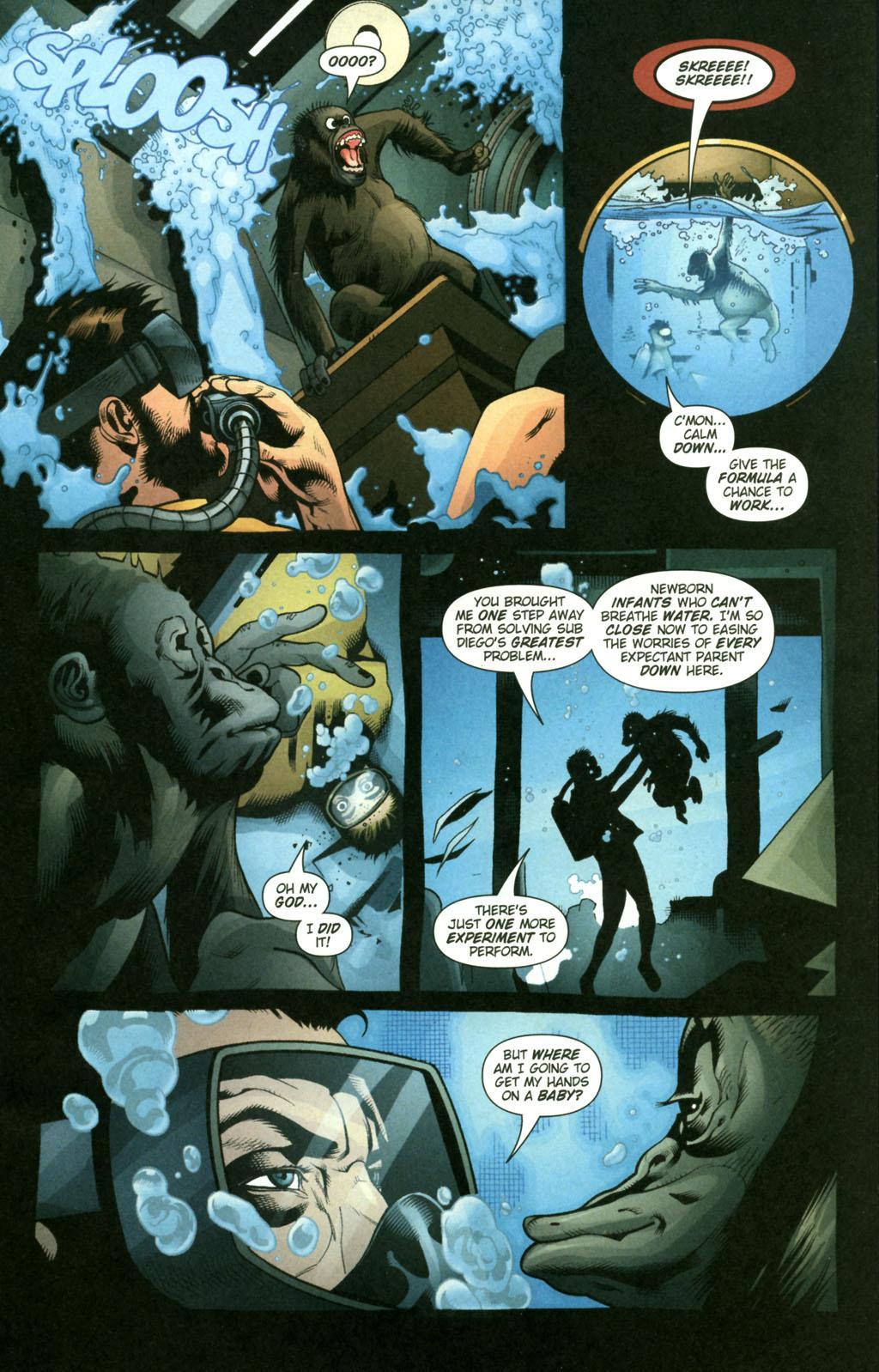 Read online Aquaman (2003) comic -  Issue #22 - 11