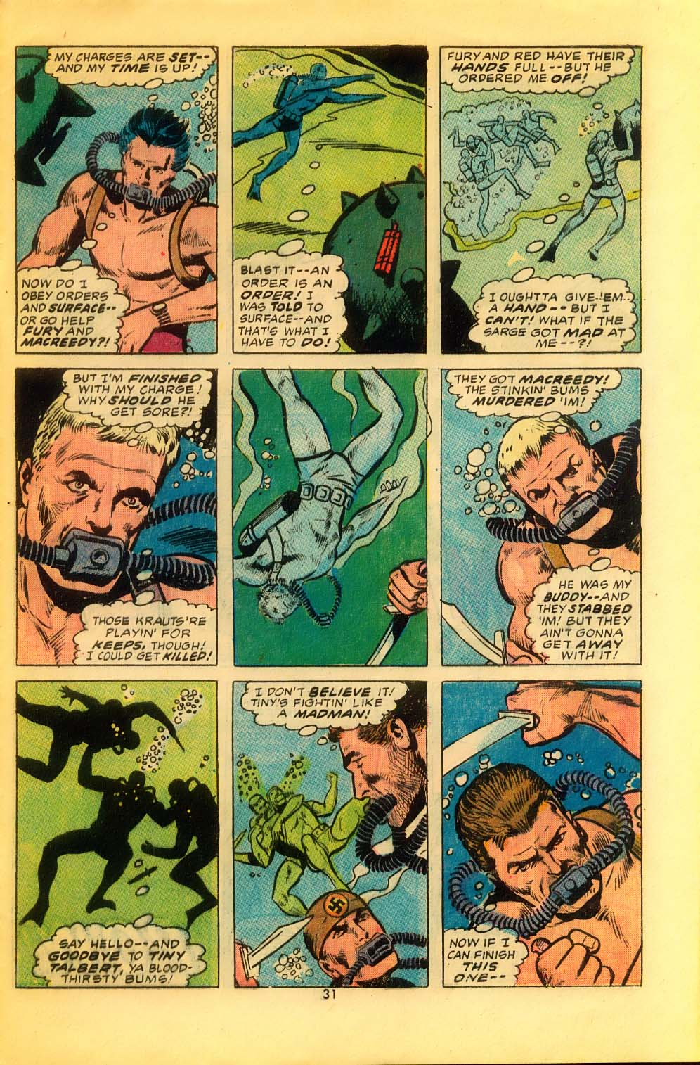 Read online Sgt. Fury comic -  Issue #116 - 33