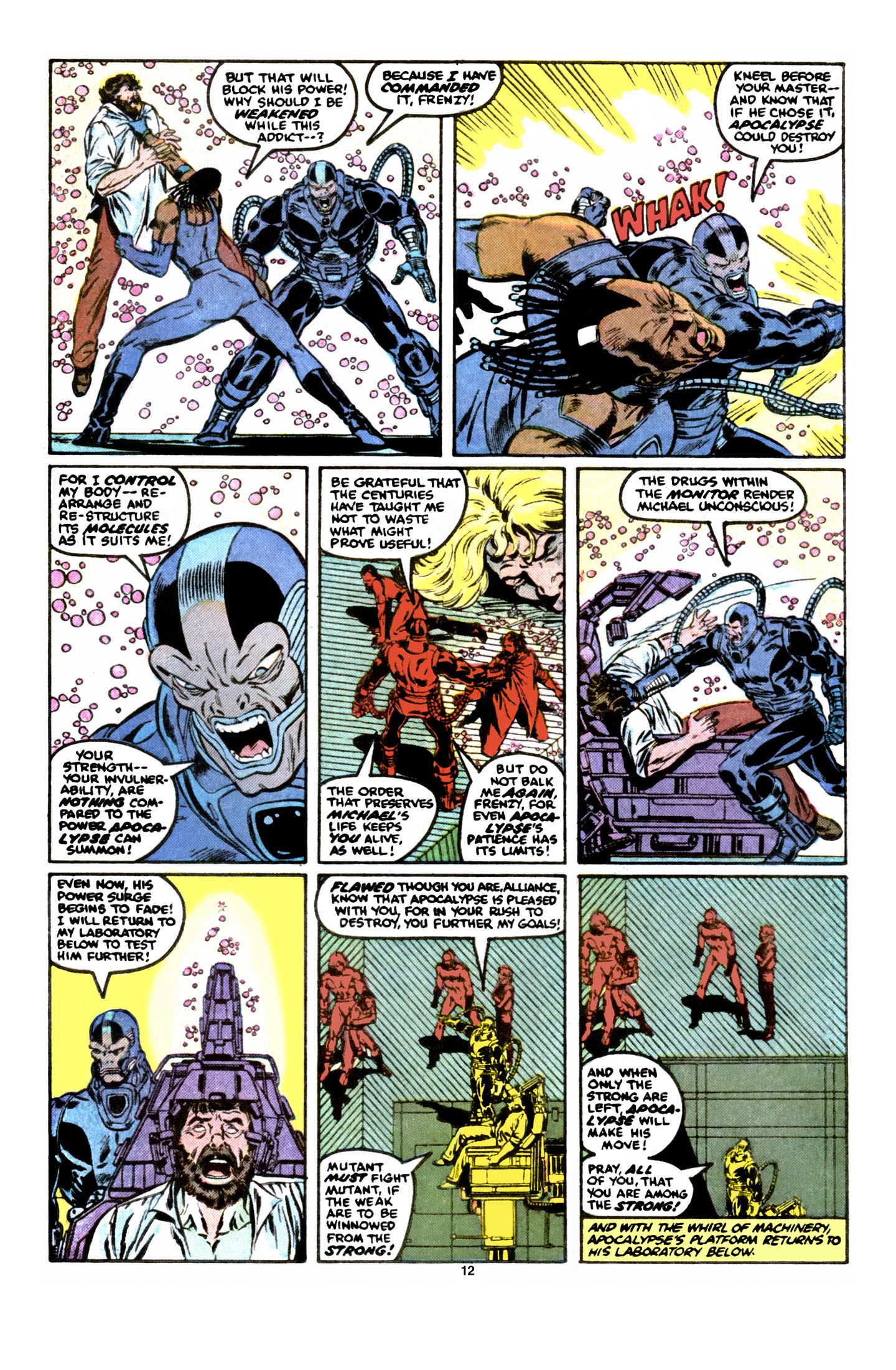 Read online X-Factor (1986) comic -  Issue #6 - 13
