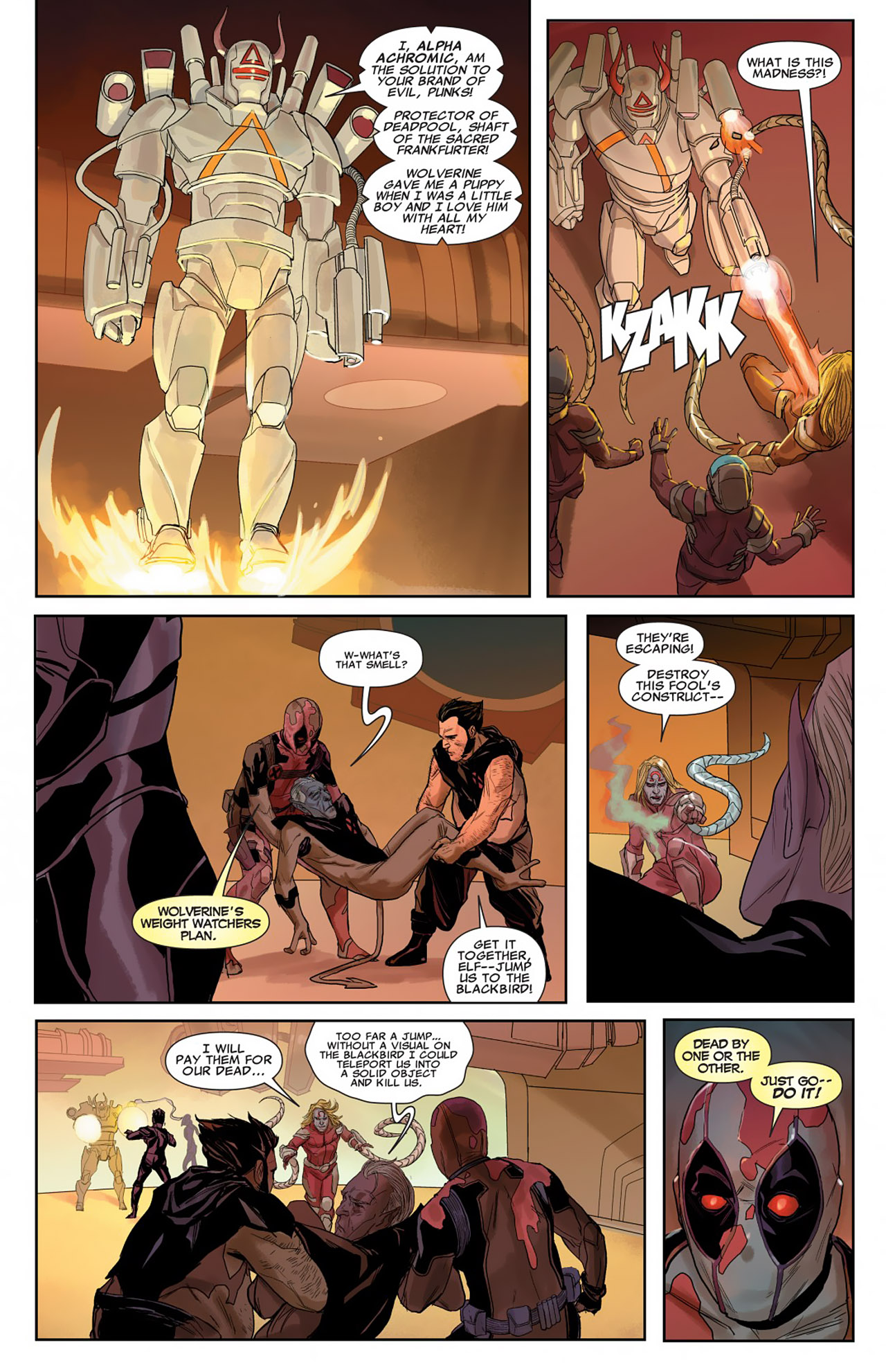 Read online Uncanny X-Force (2010) comic -  Issue #26 - 21