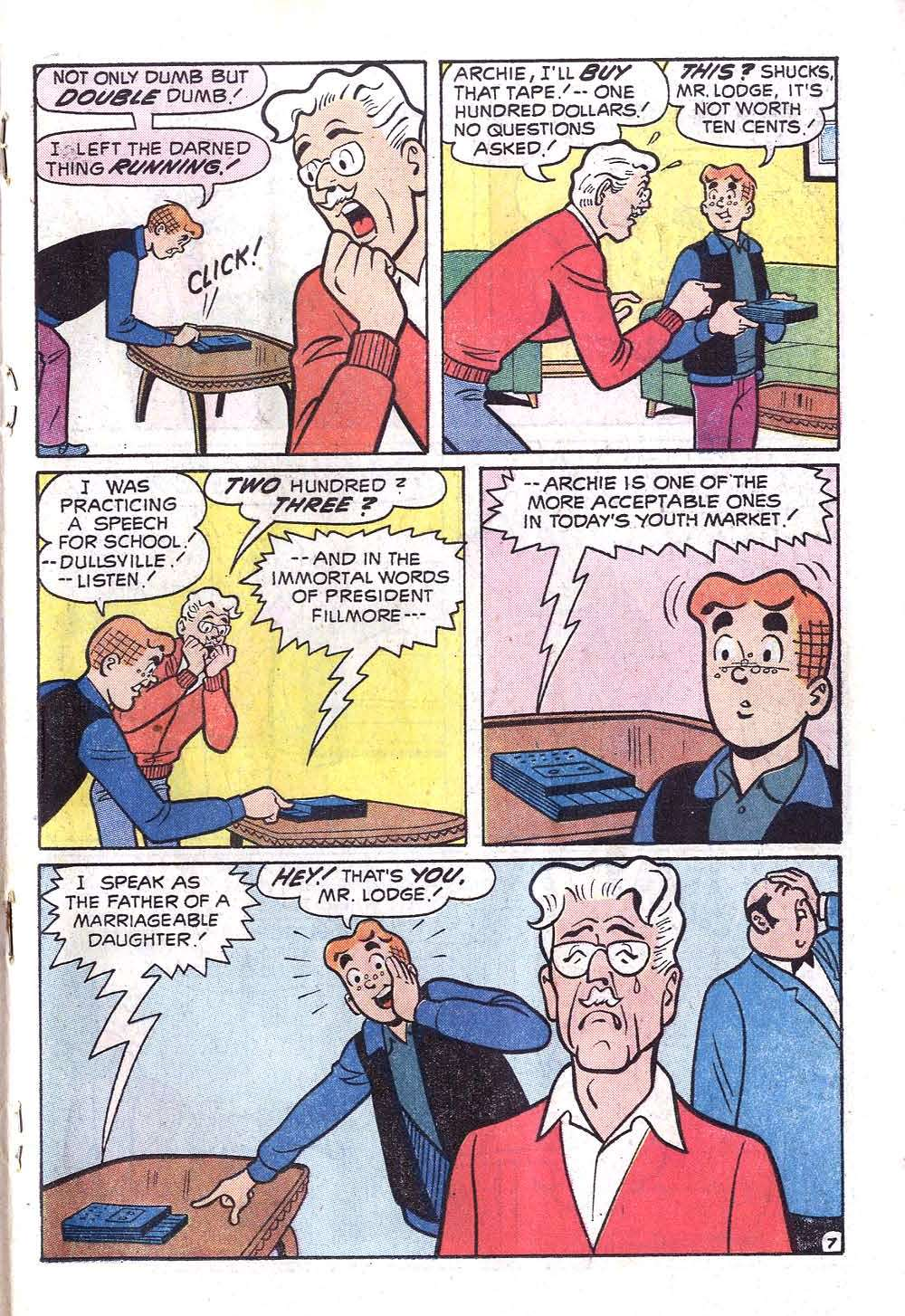 Read online Archie (1960) comic -  Issue #219 - 19