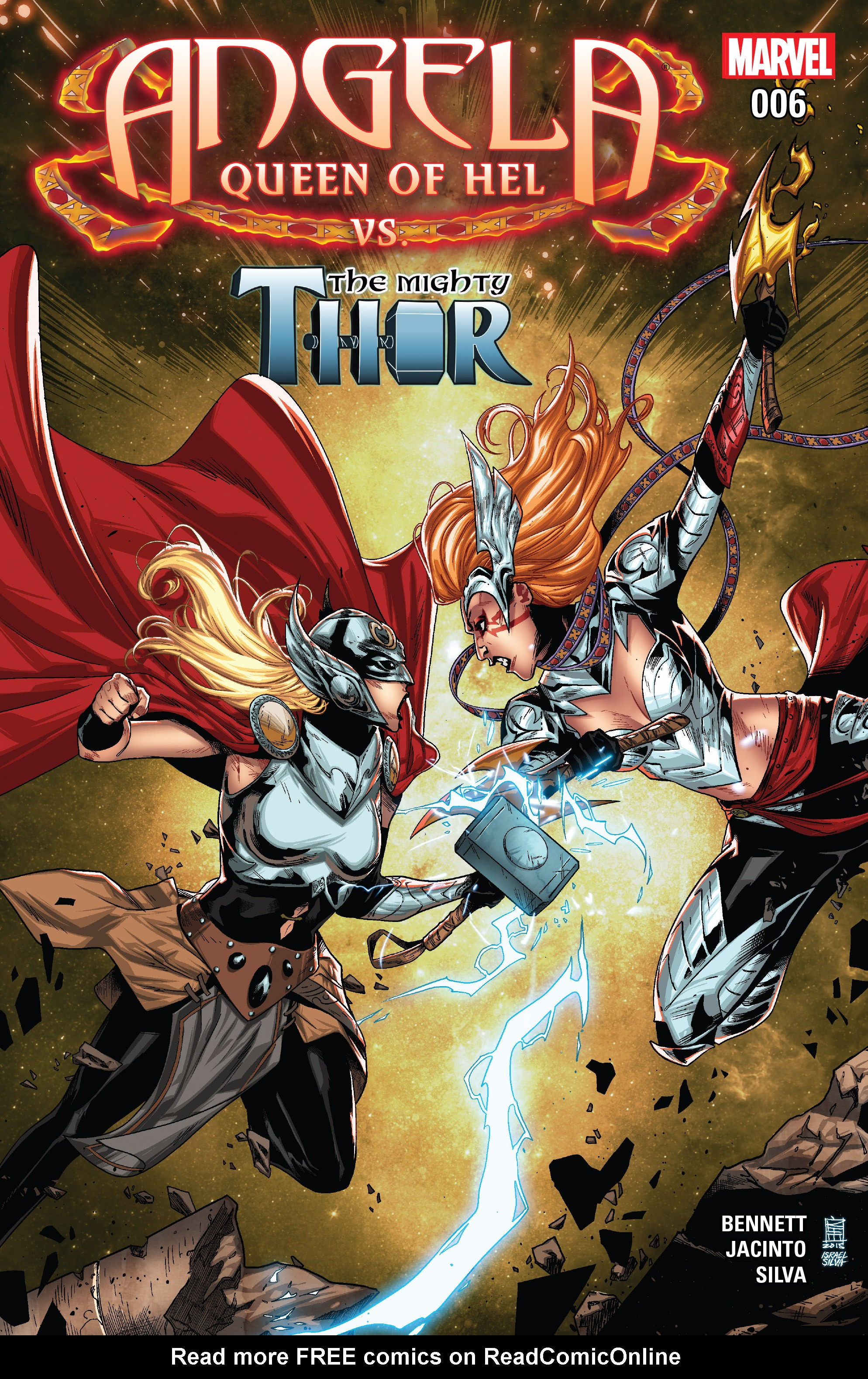 Read online Angela: Queen Of Hel comic -  Issue #6 - 1
