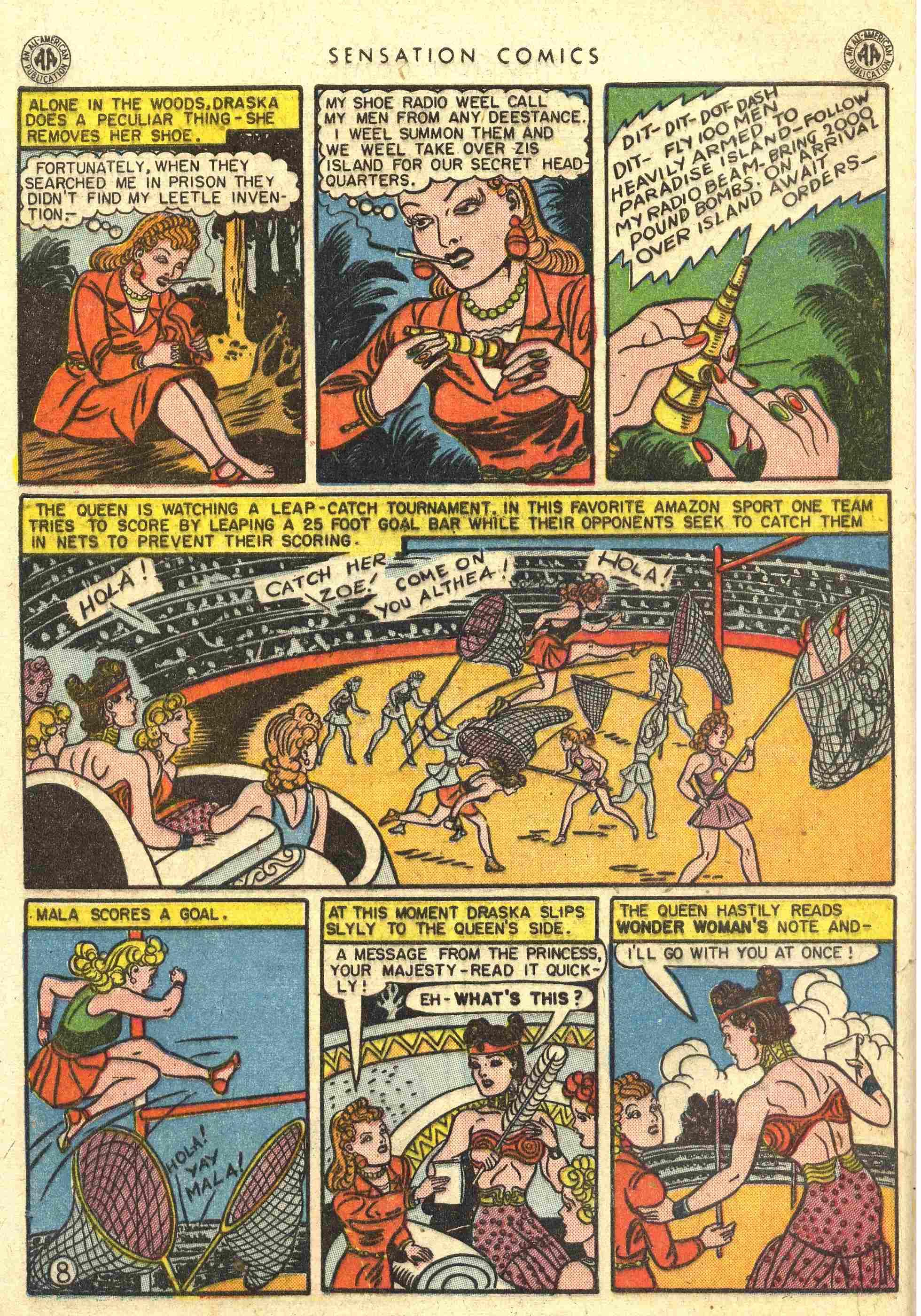 Read online Sensation (Mystery) Comics comic -  Issue #42 - 10