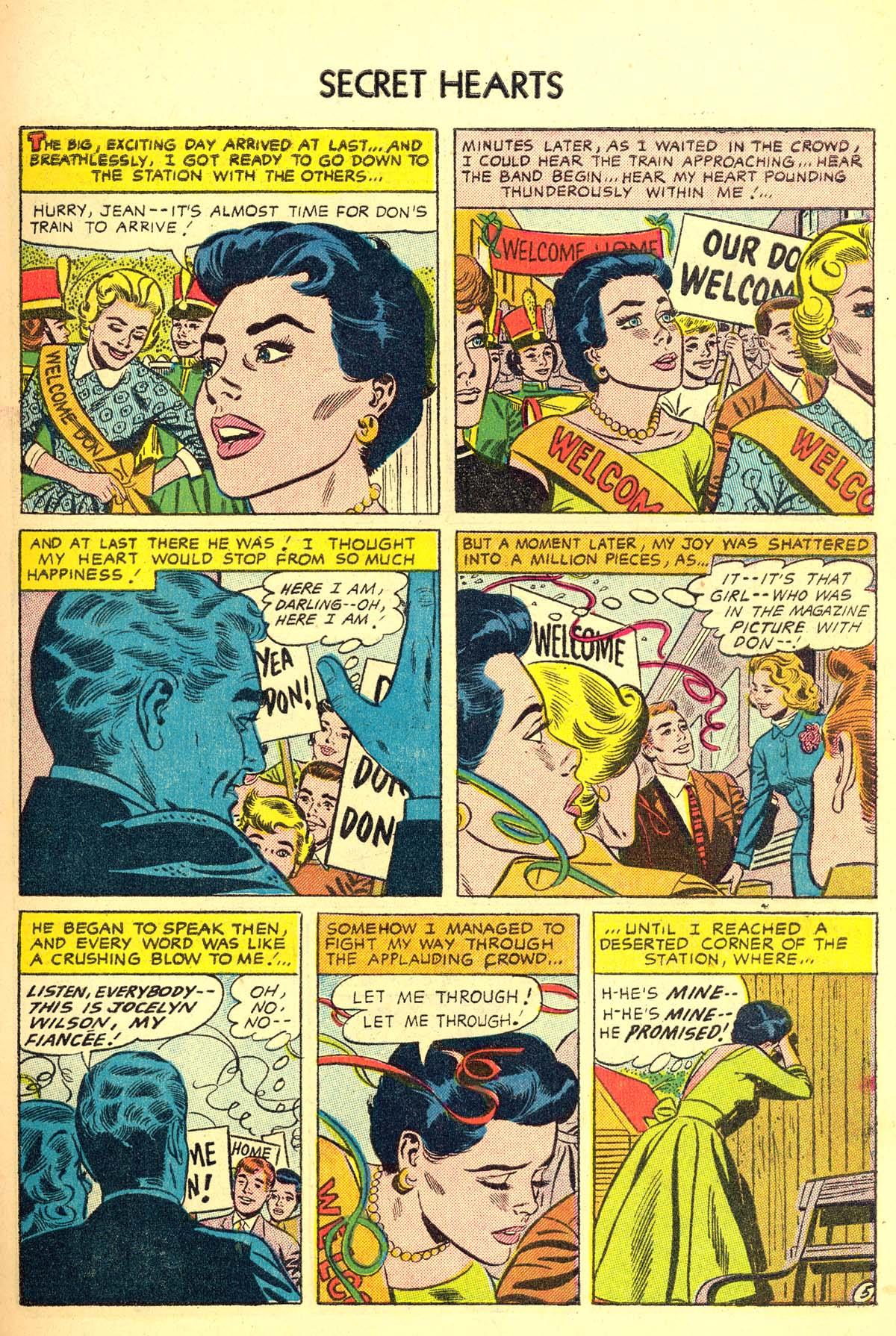 Read online Secret Hearts comic -  Issue #34 - 7