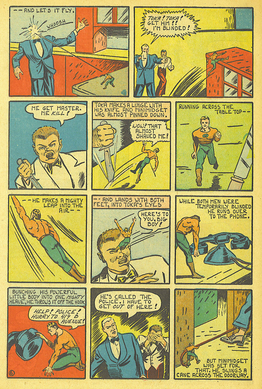 Read online Amazing Man Comics comic -  Issue #19 - 64