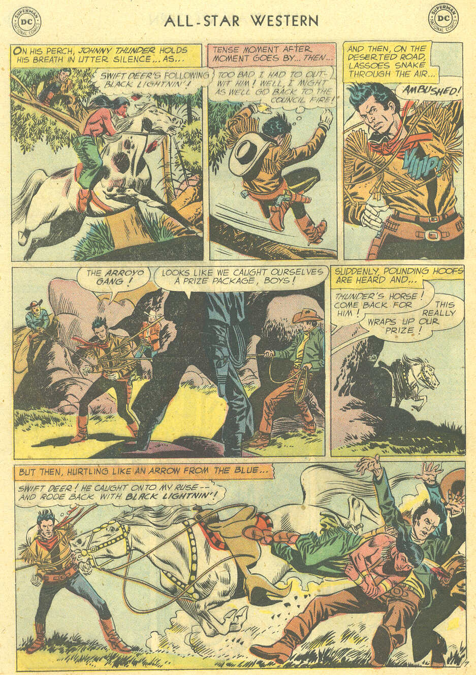 Read online All-Star Western (1951) comic -  Issue #101 - 32