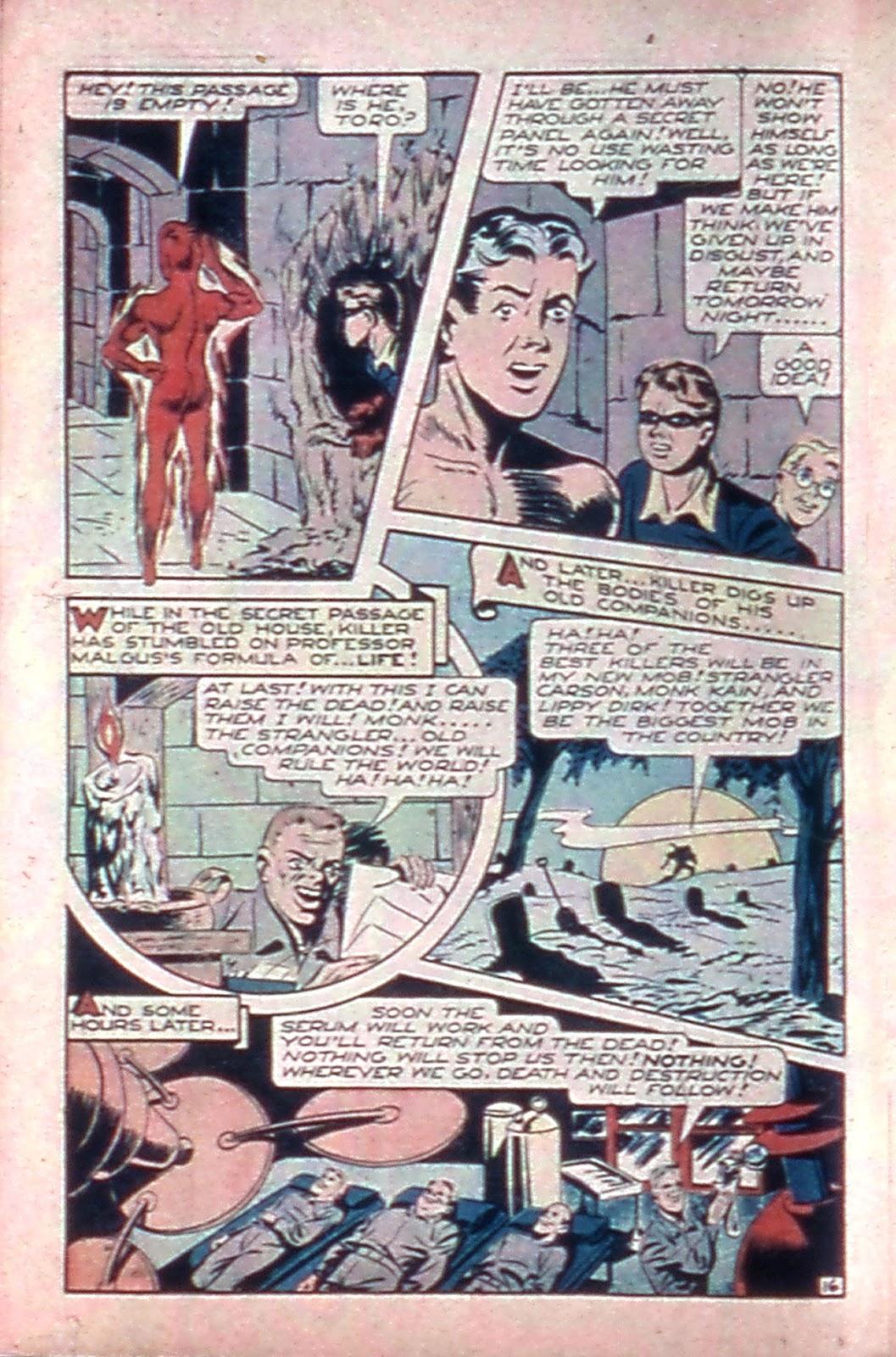 Read online Mystic Comics (1944) comic -  Issue #4 - 18