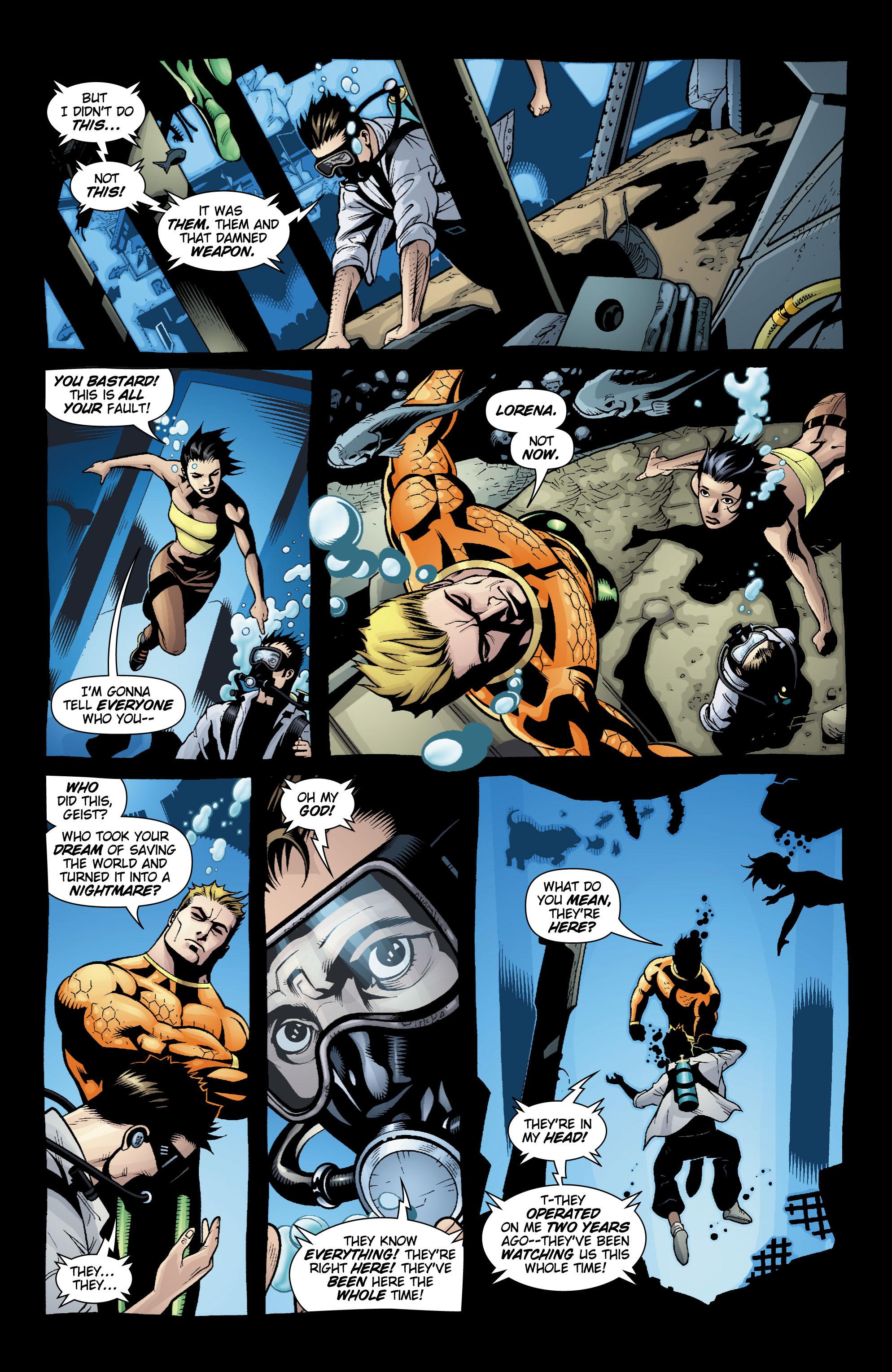 Read online Aquaman (2003) comic -  Issue #20 - 9
