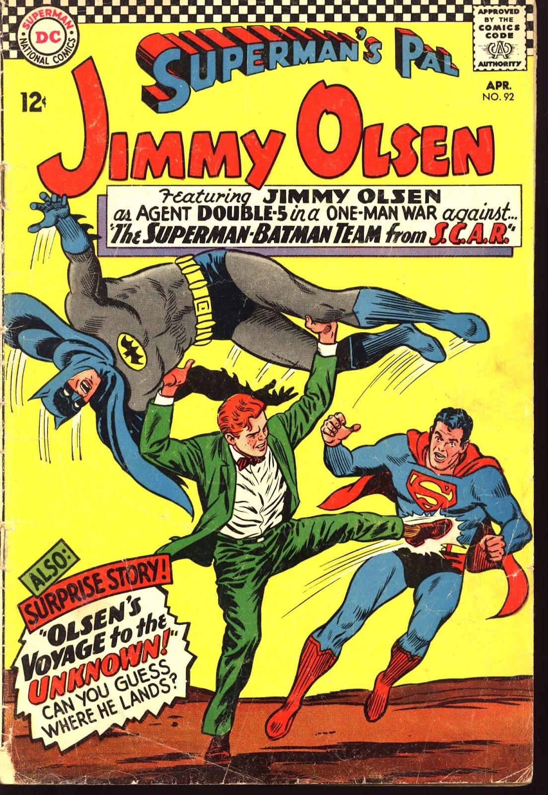 Supermans Pal Jimmy Olsen (1954) 92 Page 1
