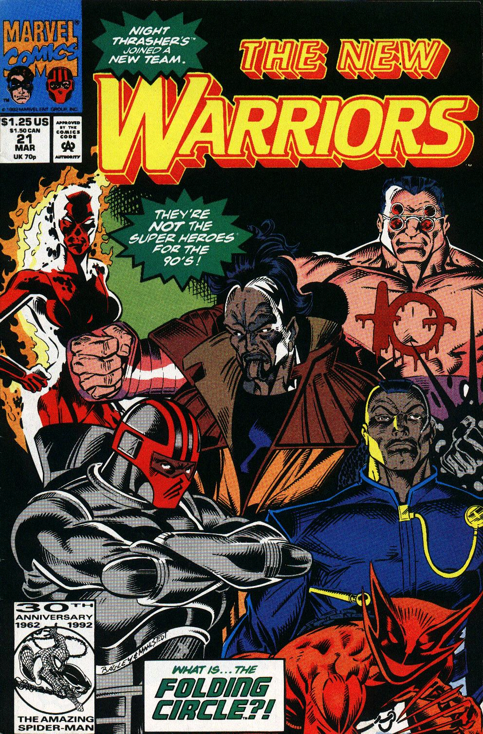The New Warriors Issue #21 #25 - English 1