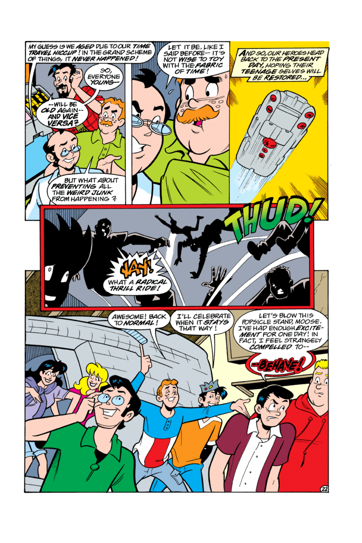 Read online Archie's Weird Mysteries comic -  Issue #5 - 23