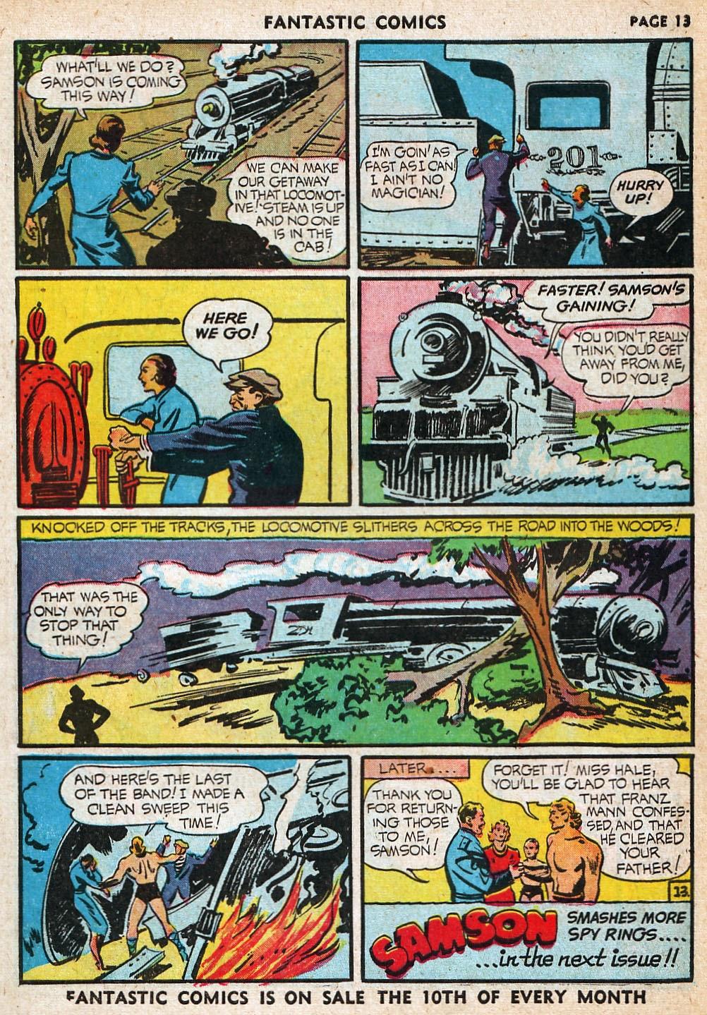 Read online Fantastic Comics comic -  Issue #20 - 14