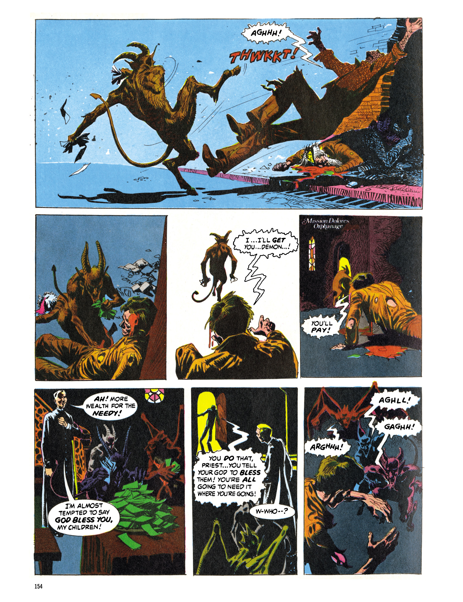 Read online Eerie Archives comic -  Issue # TPB 16 - 155