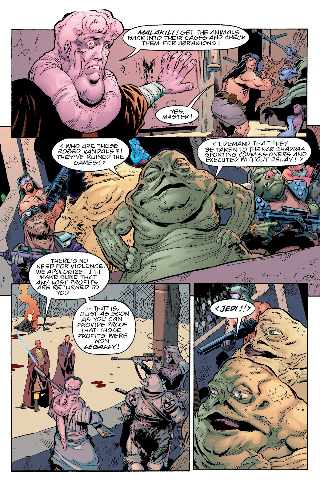 Read online Star Wars Legends Epic Collection: The Menace Revealed comic -  Issue # TPB (Part 4) - 66