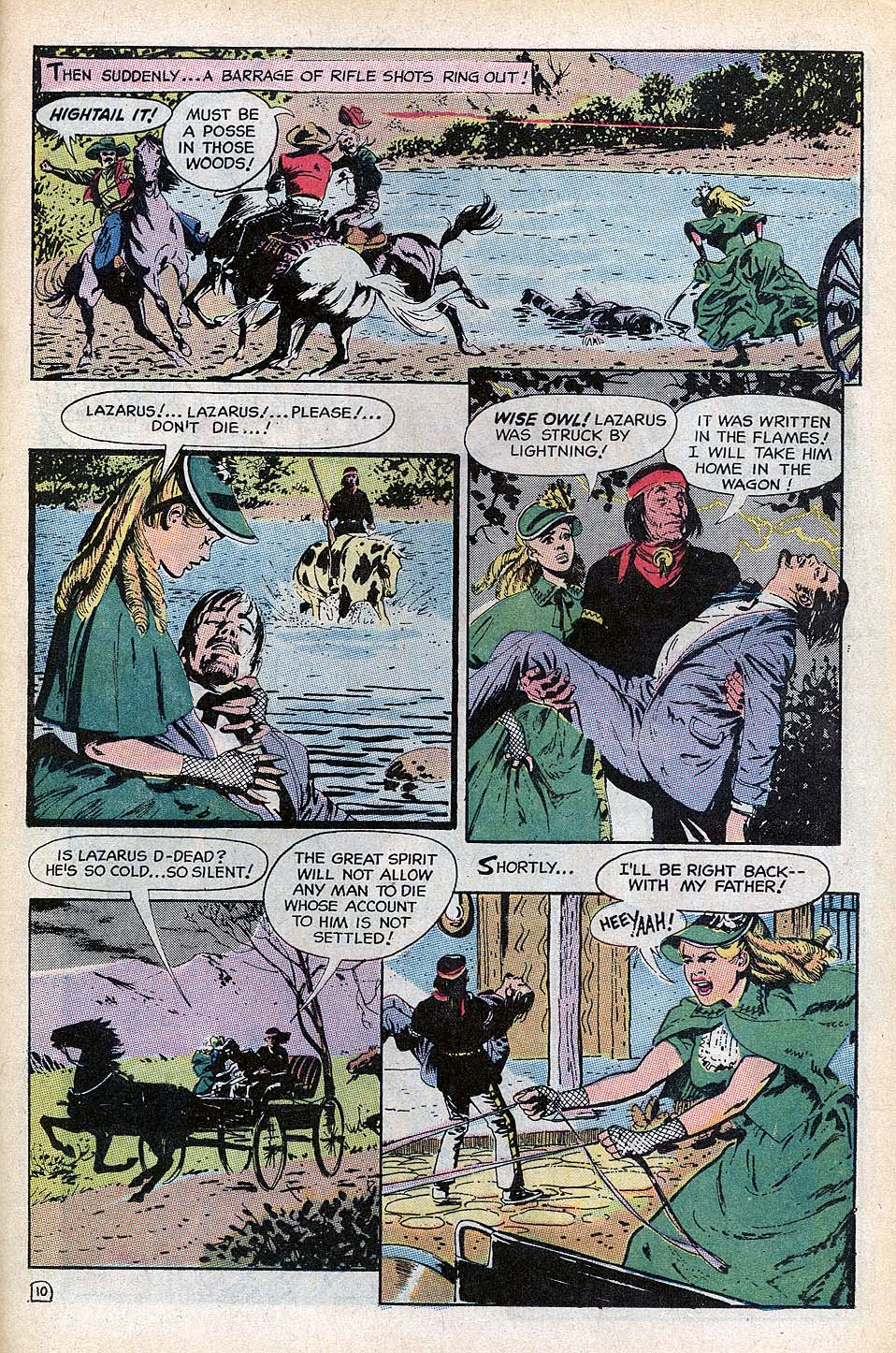 Read online All-Star Western (1970) comic -  Issue #3 - 20