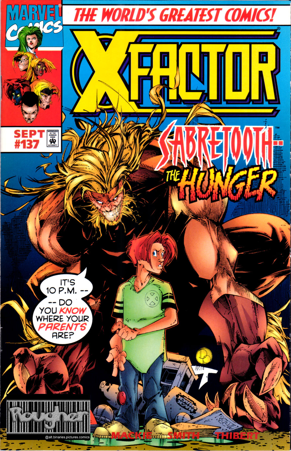 Read online X-Factor (1986) comic -  Issue #137 - 1
