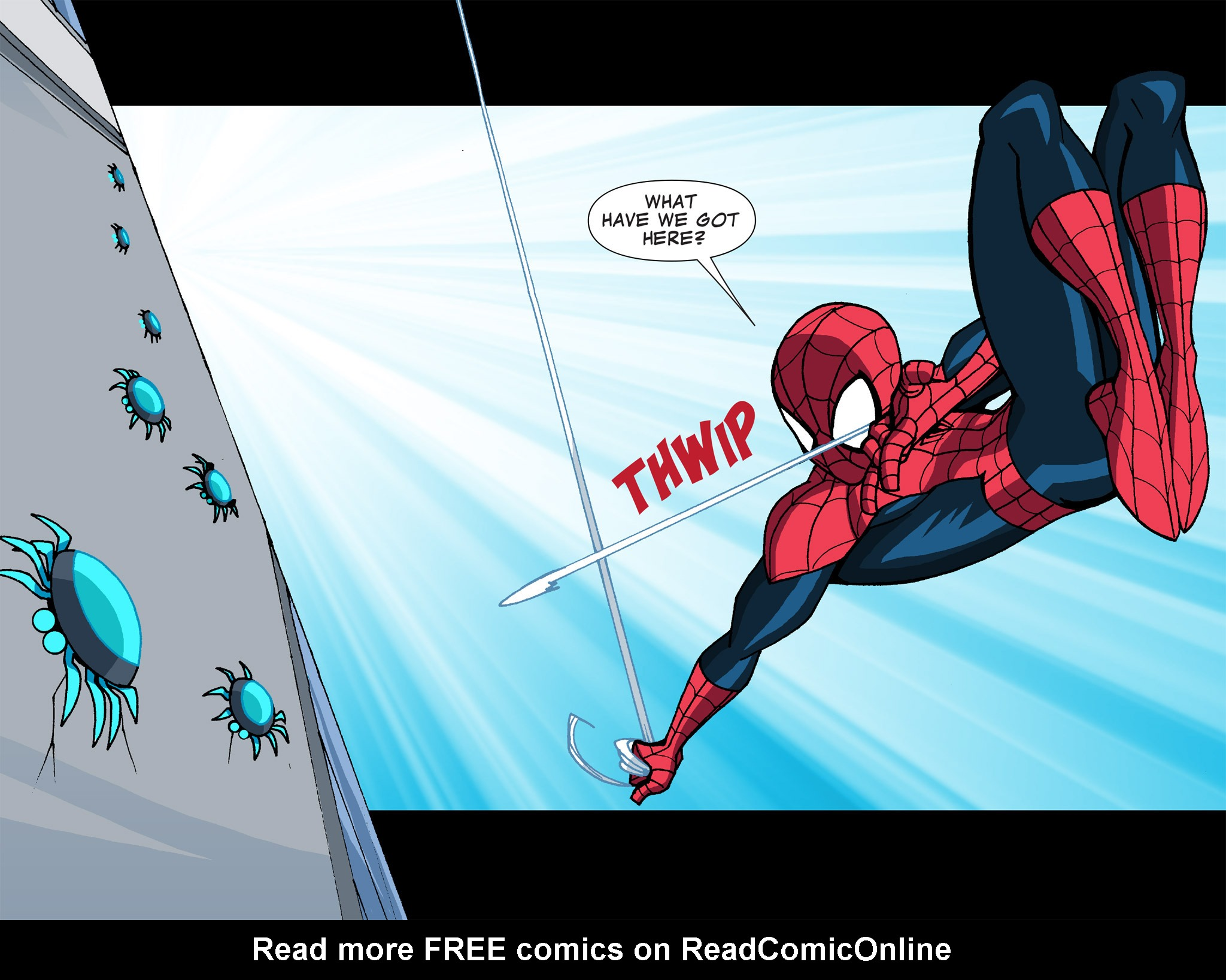 Read online Ultimate Spider-Man (Infinite Comics) (2015) comic -  Issue #13 - 27