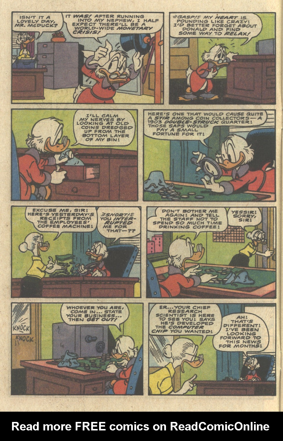 Read online Uncle Scrooge (1953) comic -  Issue #229 - 4