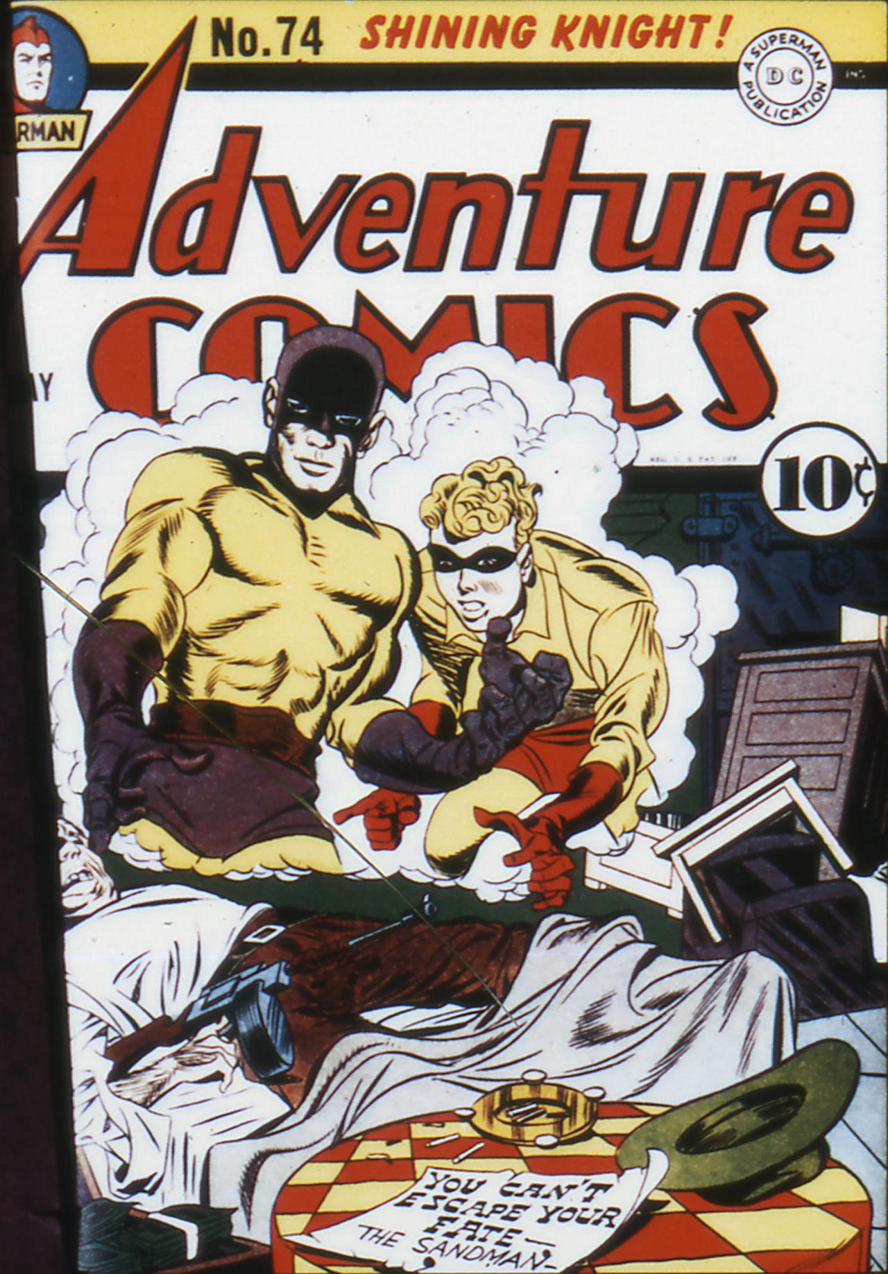 Read online Adventure Comics (1938) comic -  Issue #74 - 2