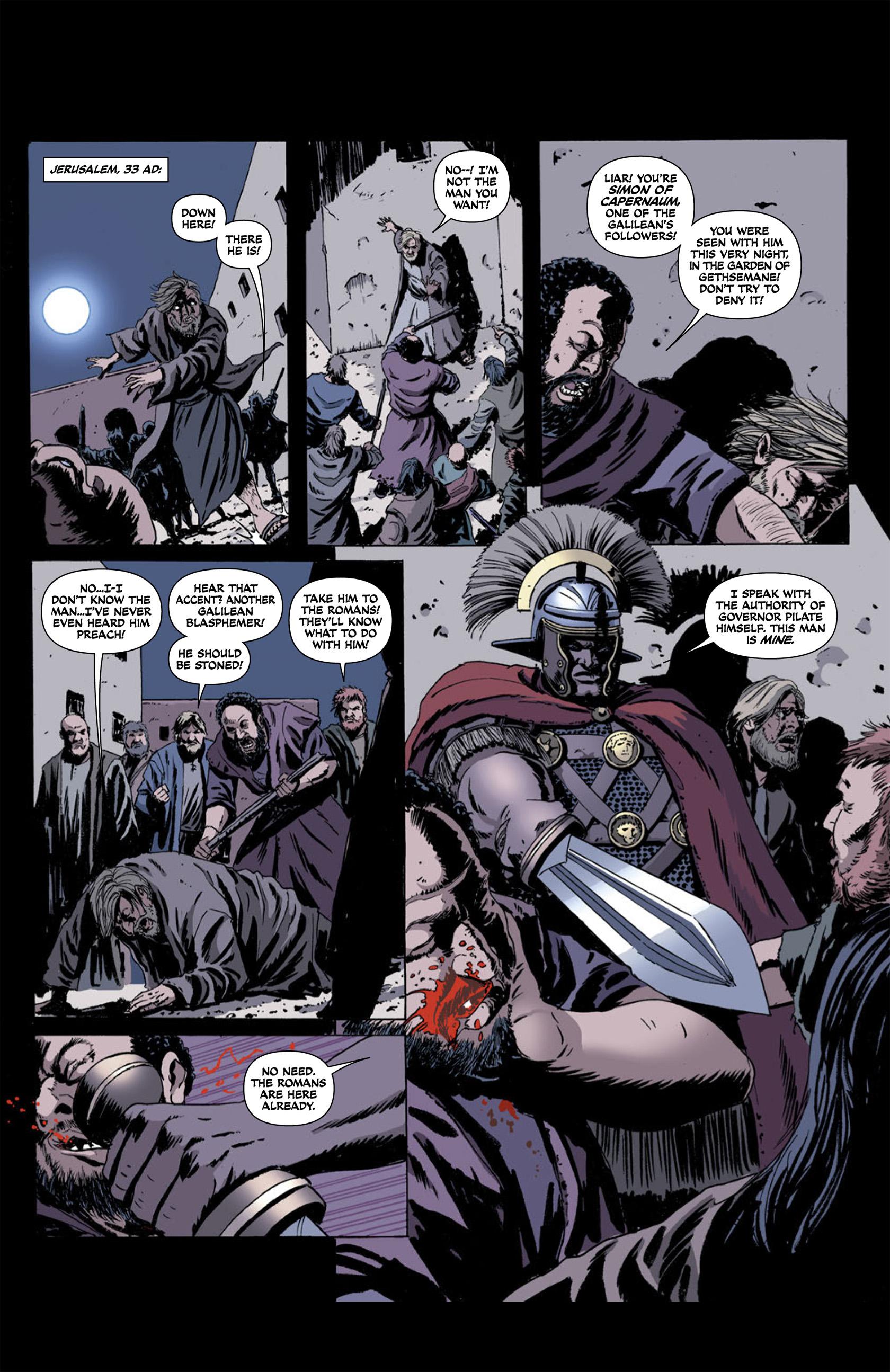 Read online Aquila comic -  Issue #2 - 25