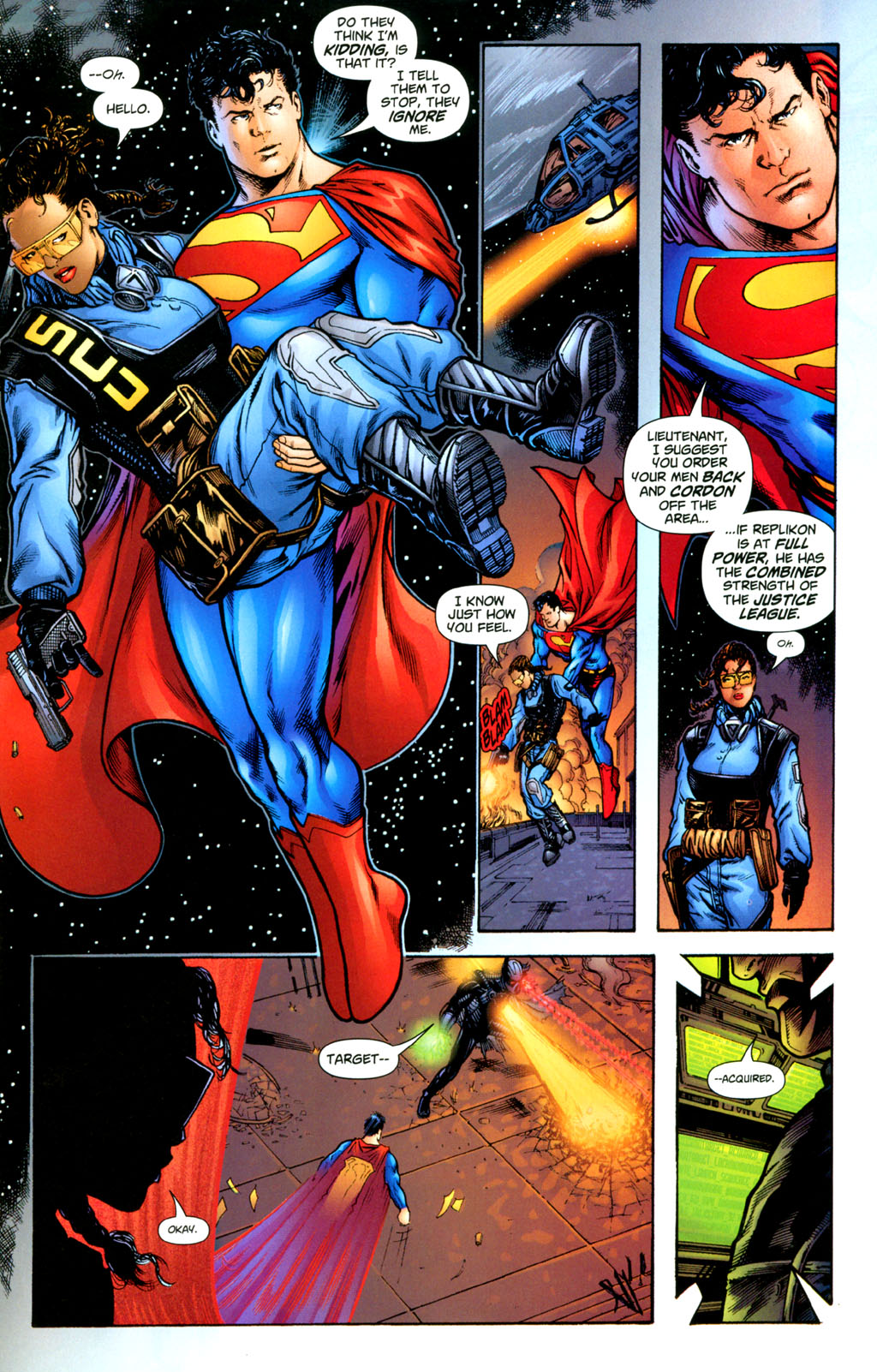 Read online Adventures of Superman (1987) comic -  Issue #627 - 19